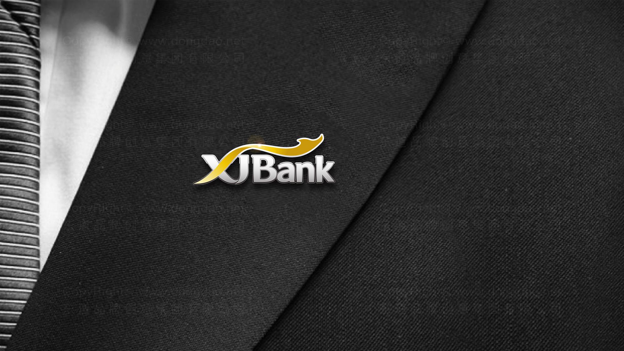 品牌设计新疆银行LOGO&VI设计应用场景_6