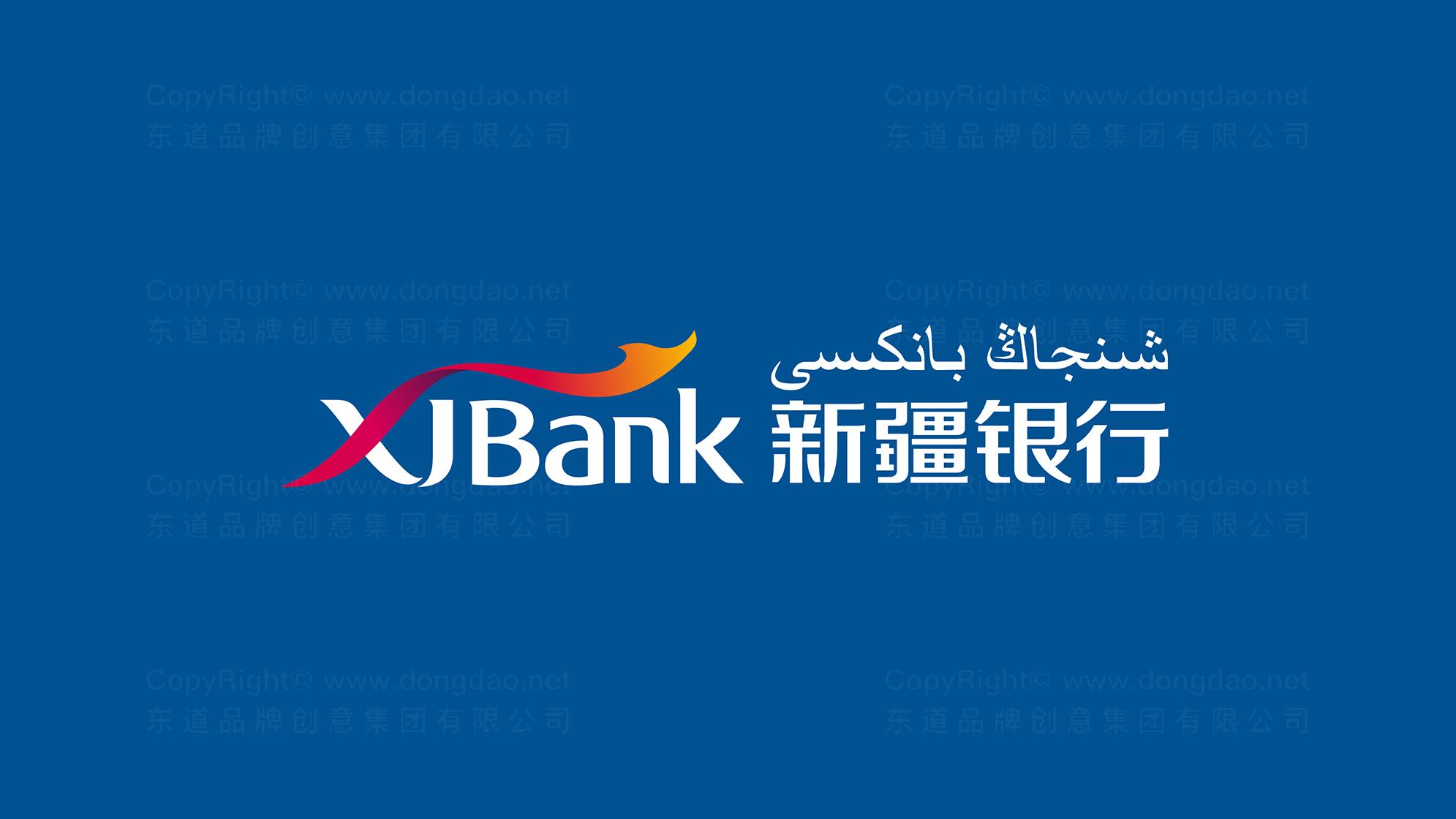 品牌设计新疆银行LOGO&VI设计应用场景