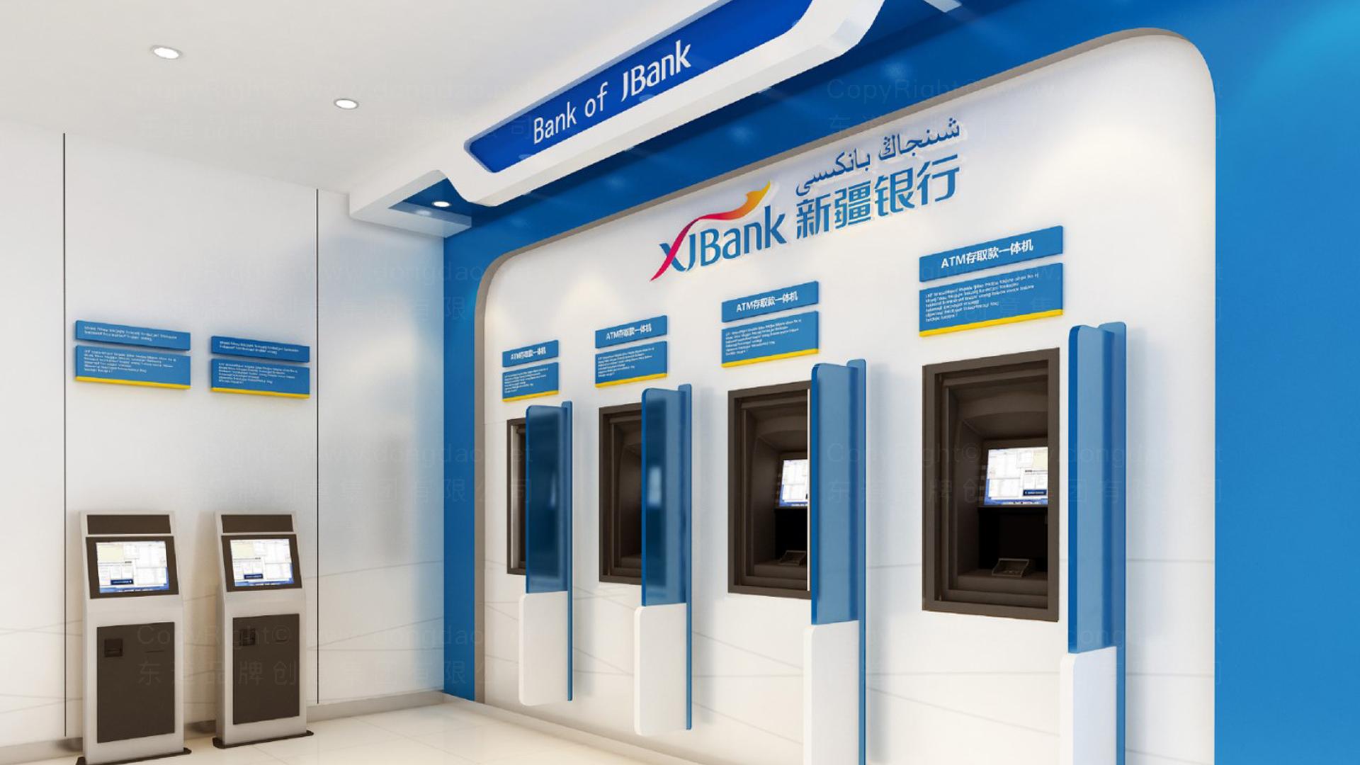 商业空间&导示新疆银行SI设计应用场景_1