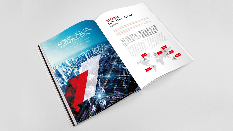 视觉传达中关村科技园区画册设计应用场景