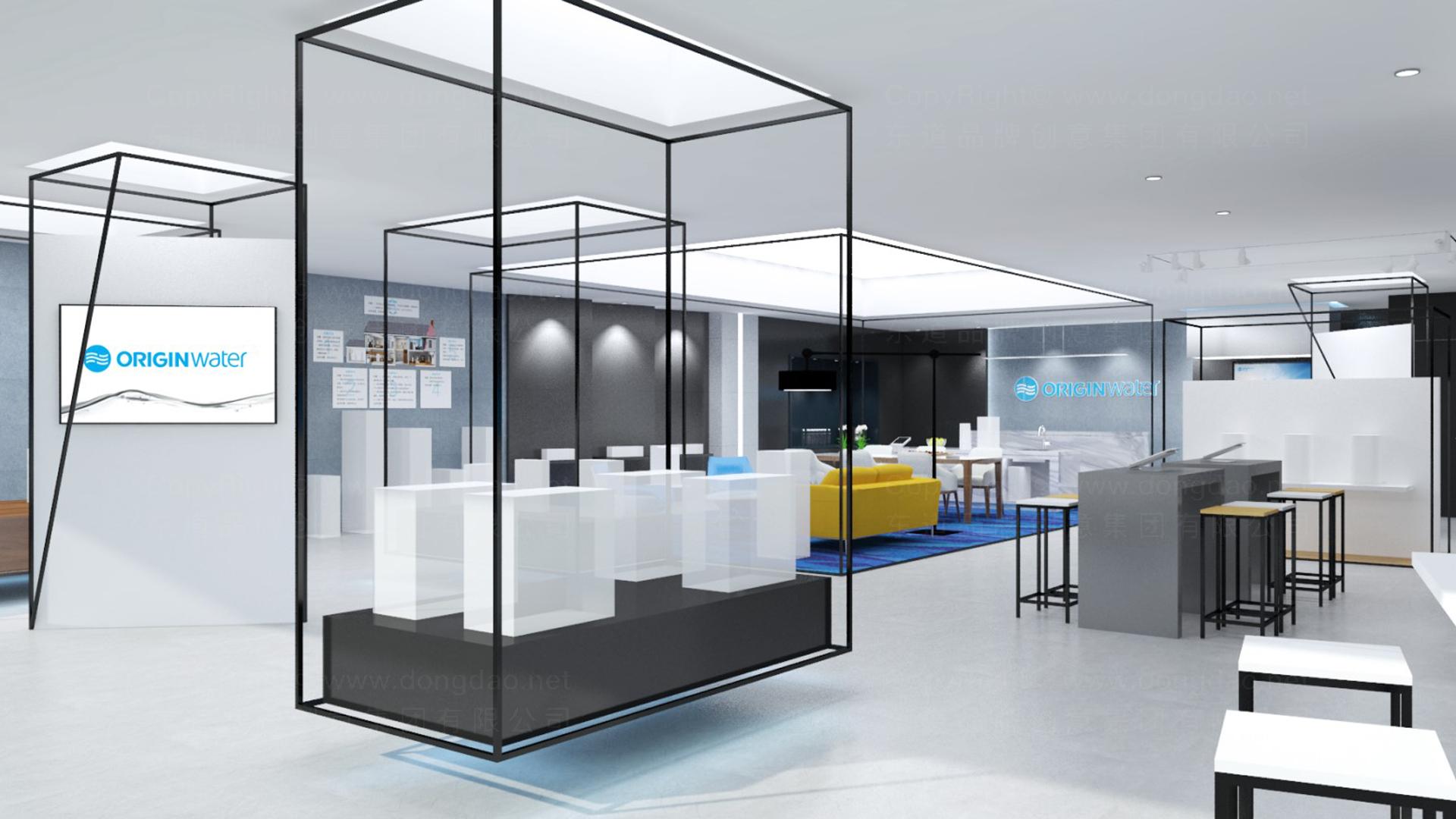 商业空间&导示碧水源SI设计应用场景