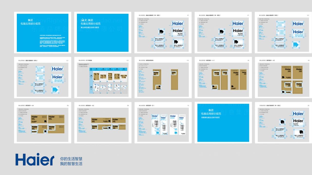 产品包装海尔包装规范应用