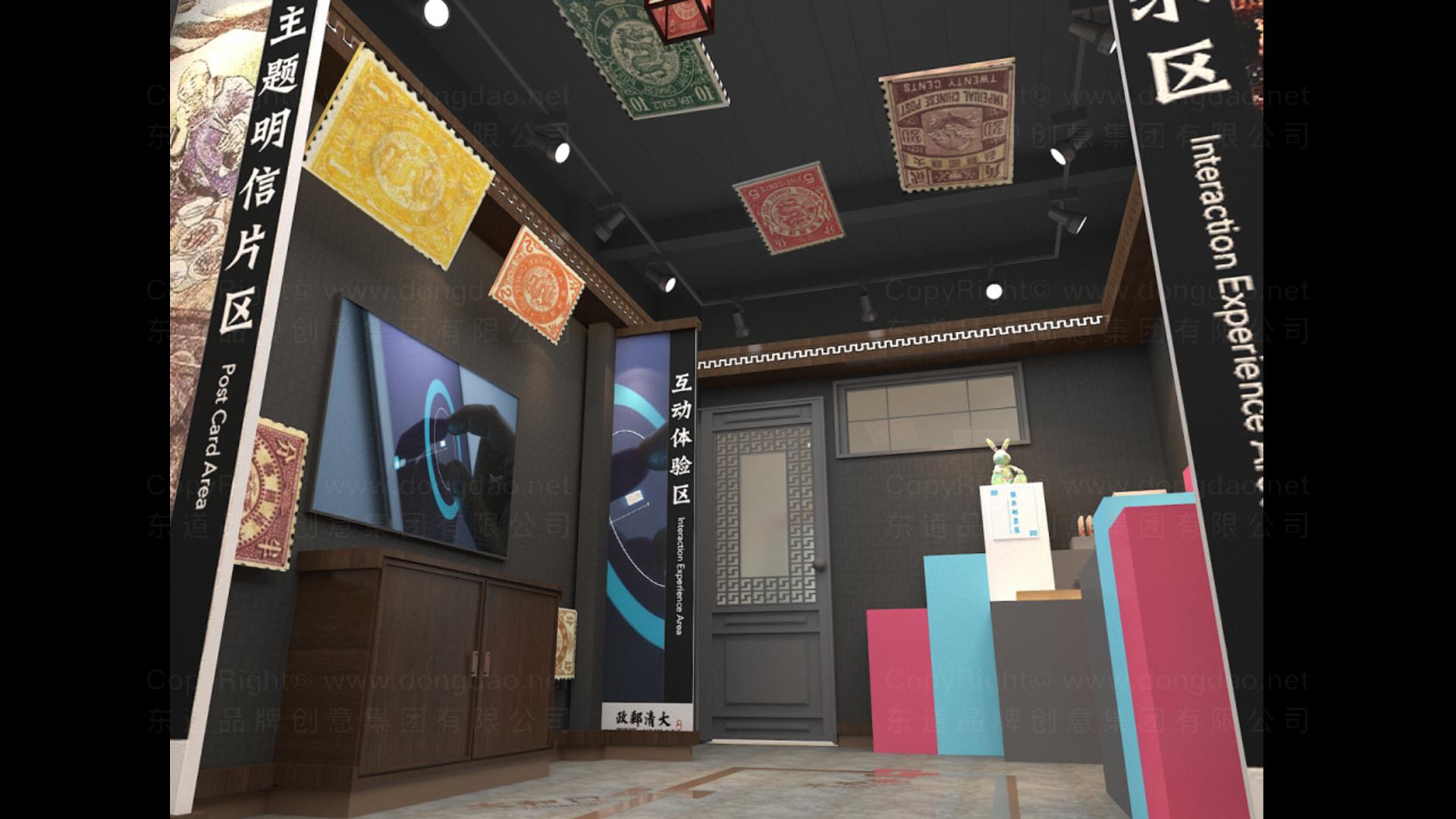 商业空间&导示大清邮政SI设计应用场景_3