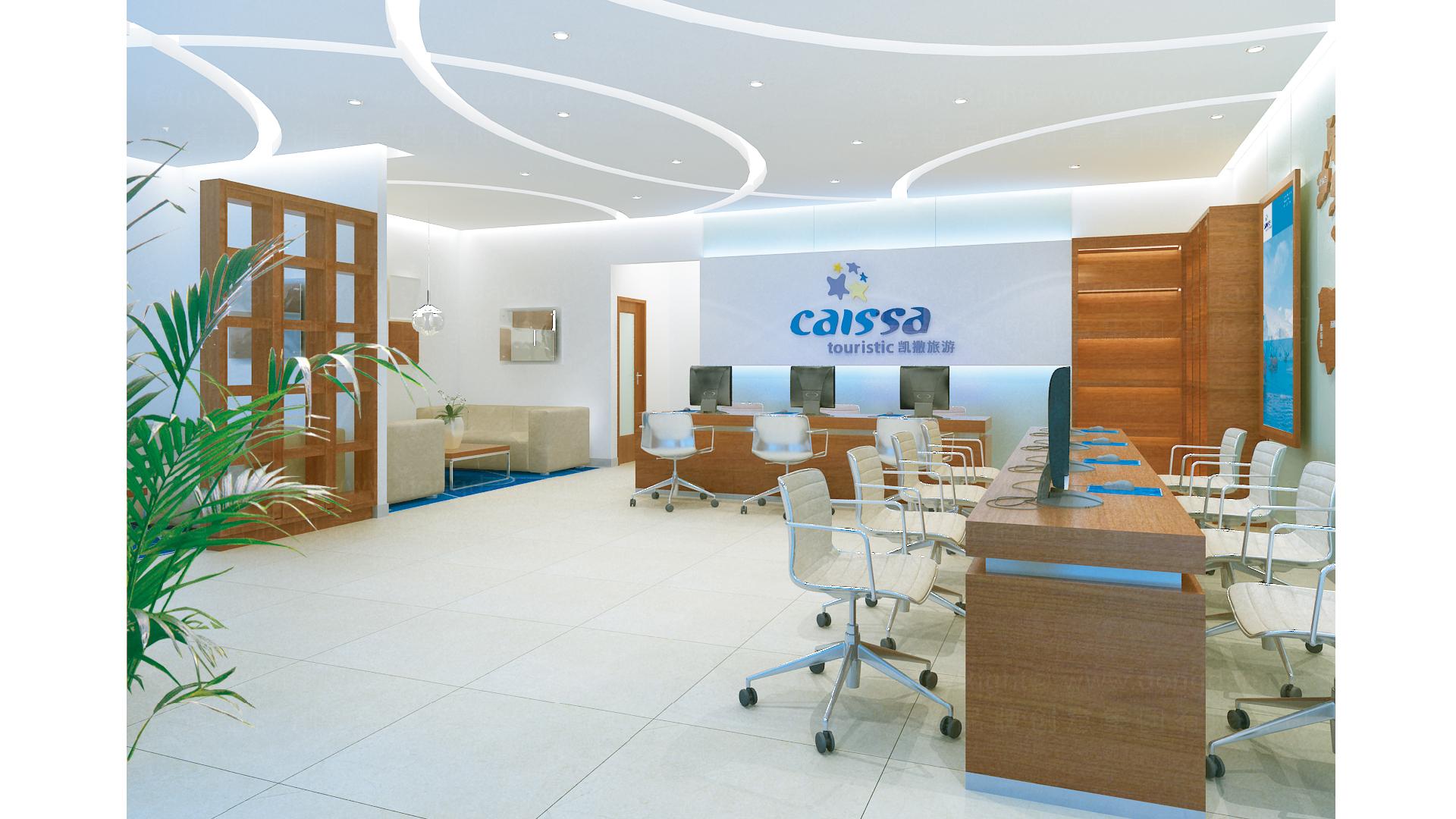 旅游生活商业空间&导示凯撒旅游SI设计