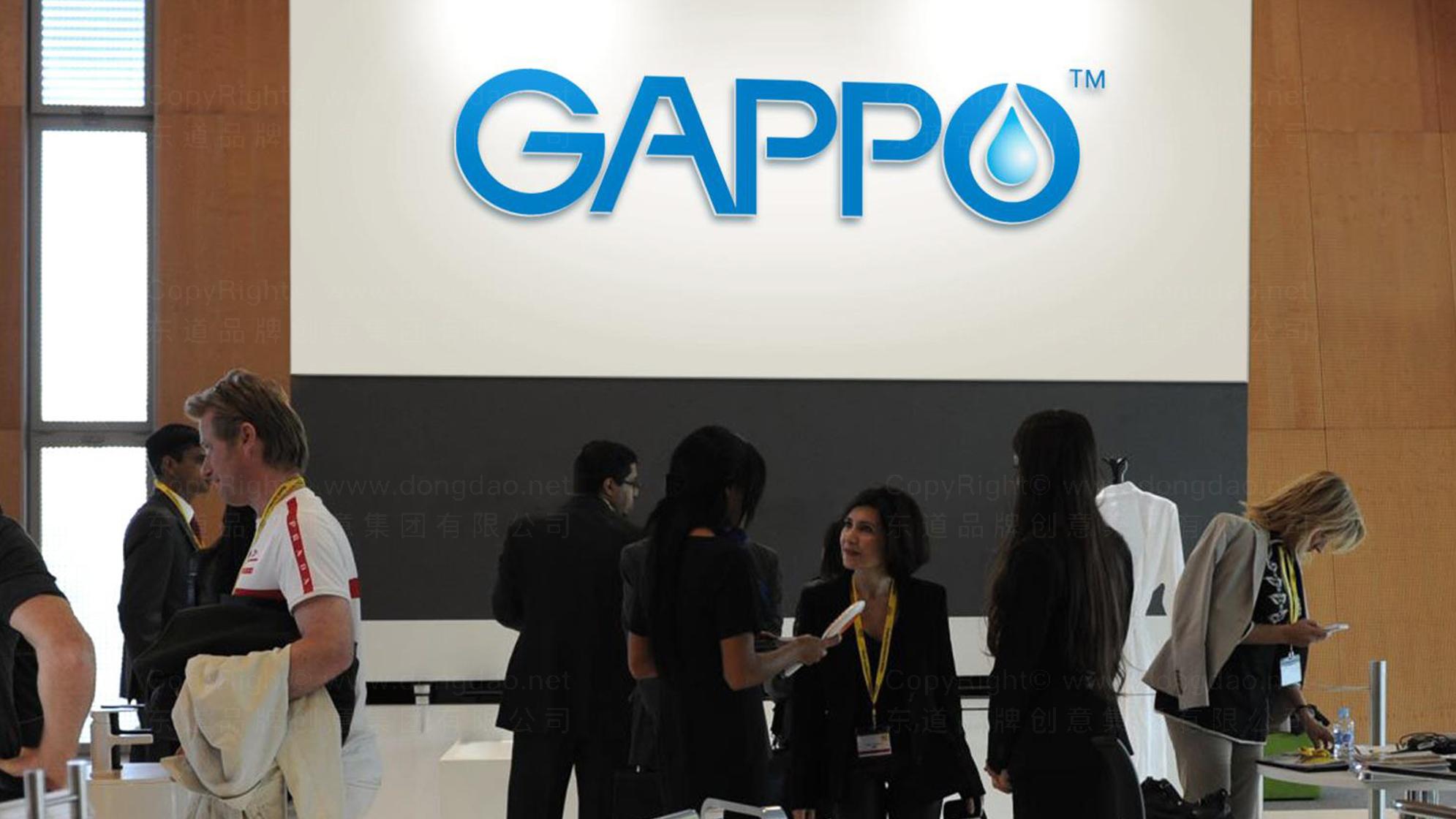 品牌设计GAPPO卫浴LOGO&VI设计应用场景_6