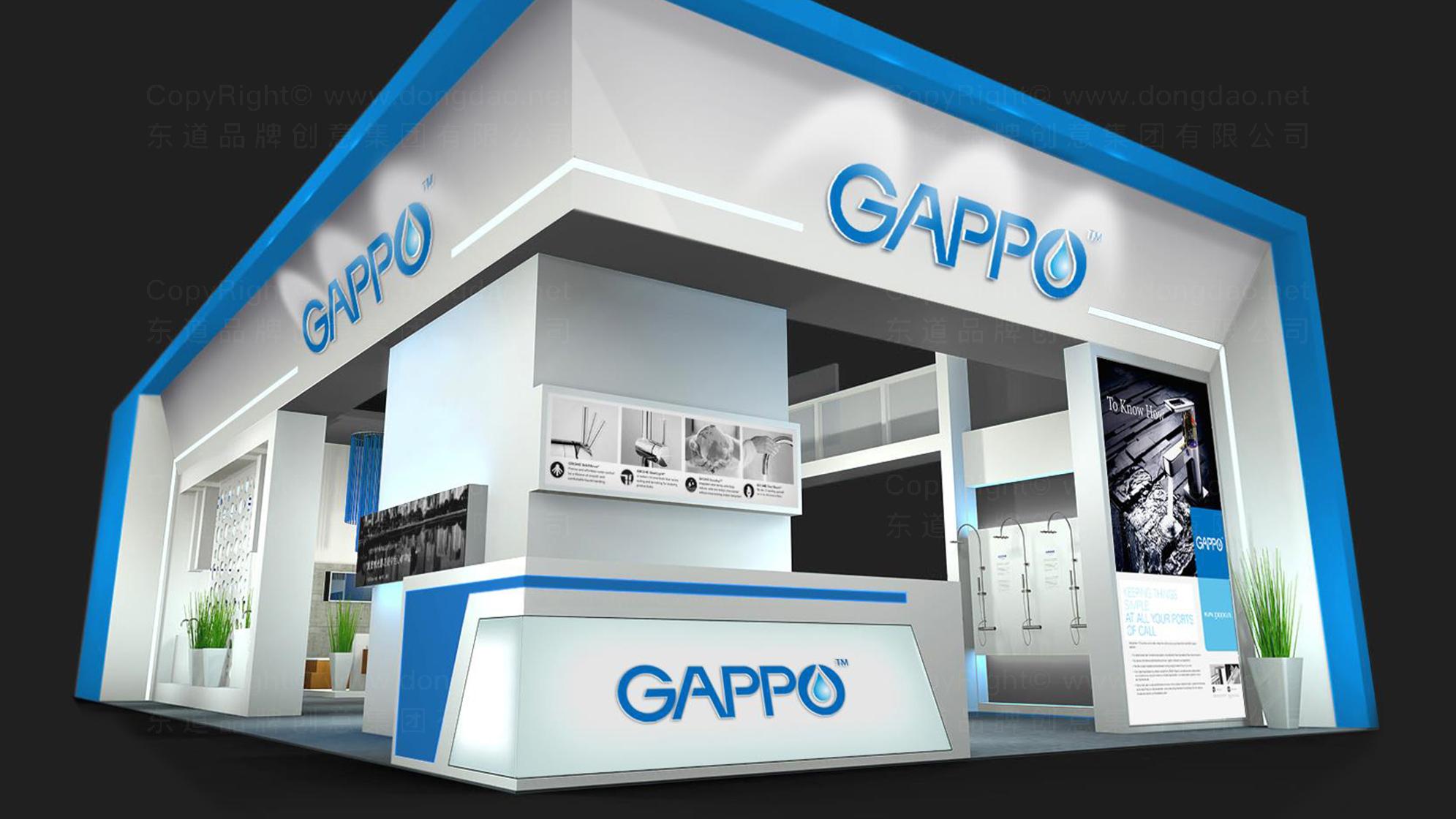 品牌设计GAPPO卫浴LOGO&VI设计应用场景_7