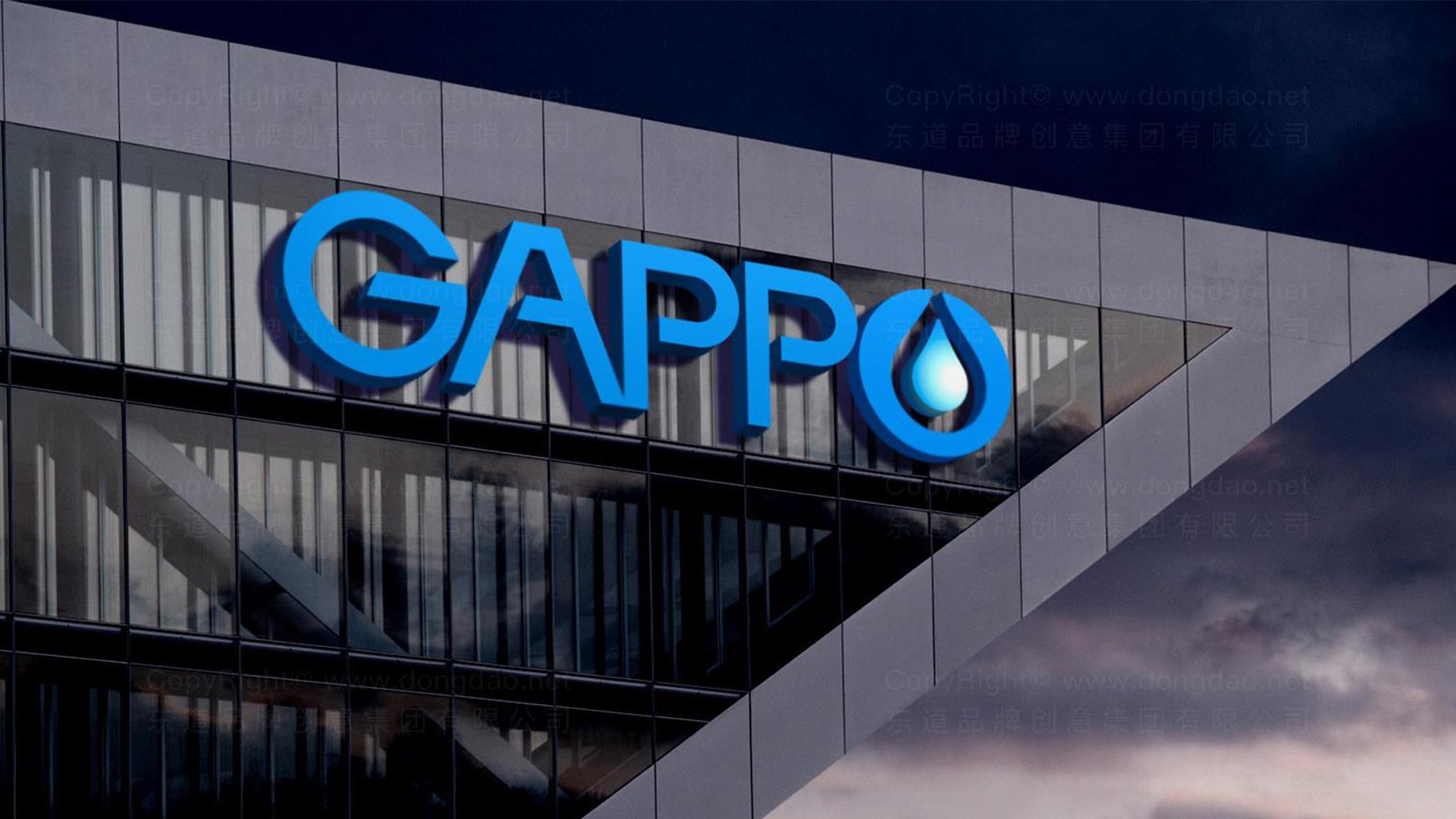 品牌设计GAPPO卫浴LOGO&VI设计应用