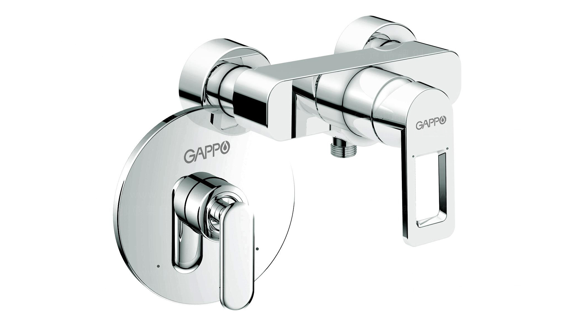 品牌设计GAPPO卫浴LOGO&VI设计应用场景_2