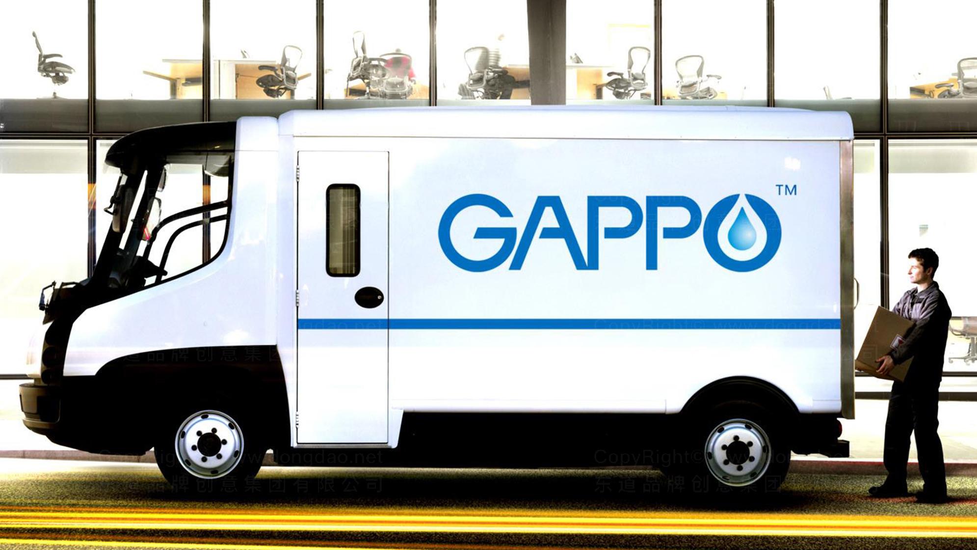 品牌设计GAPPO卫浴LOGO&VI设计应用场景_4
