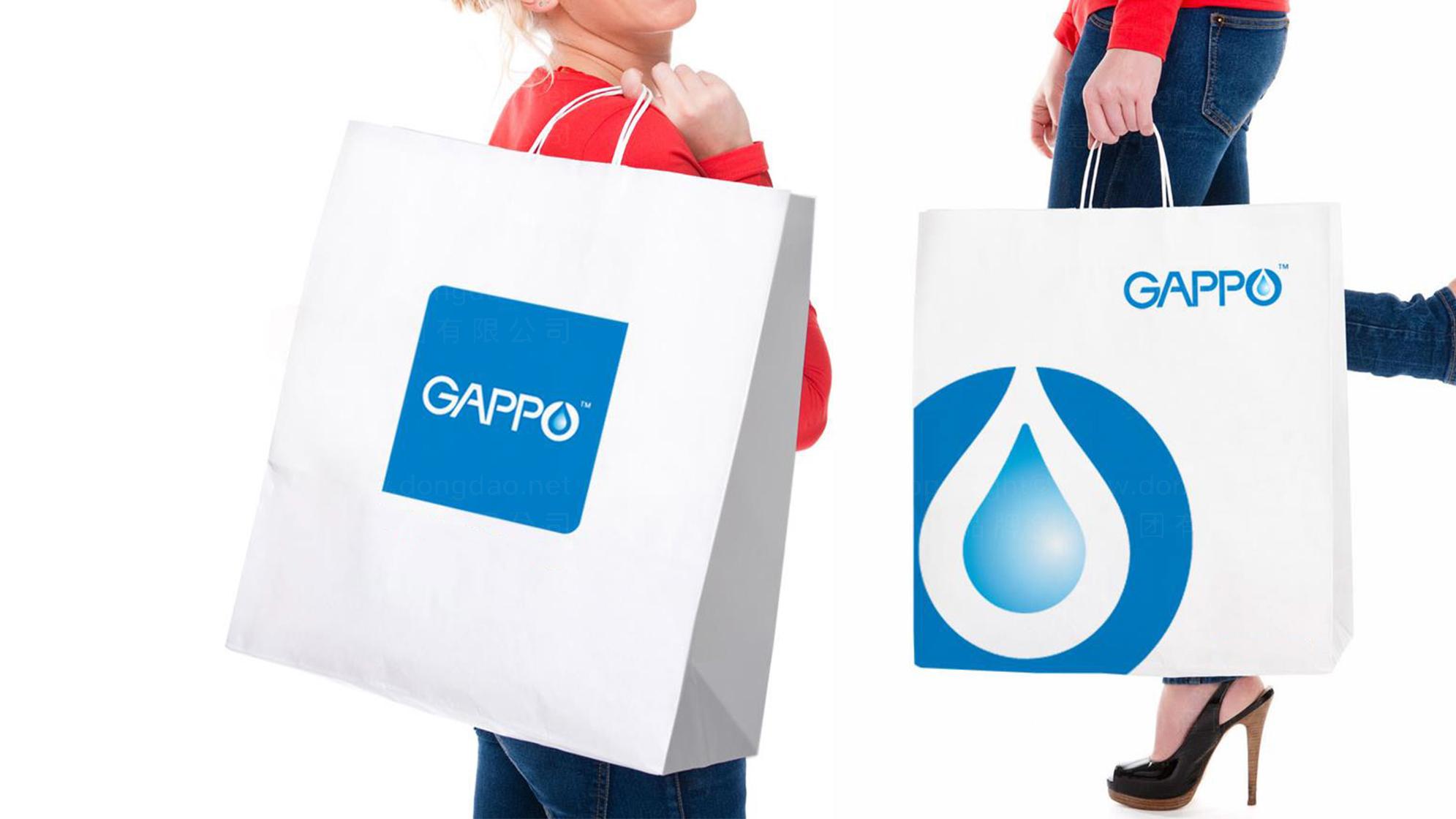品牌设计GAPPO卫浴LOGO&VI设计应用场景_5