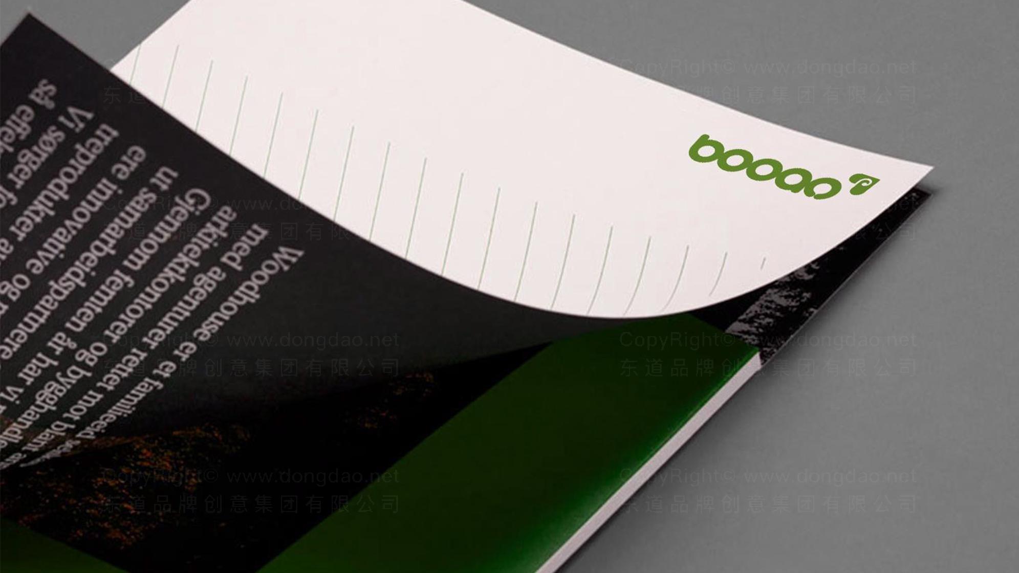 品牌设计泊岸家居LOGO&VI设计应用