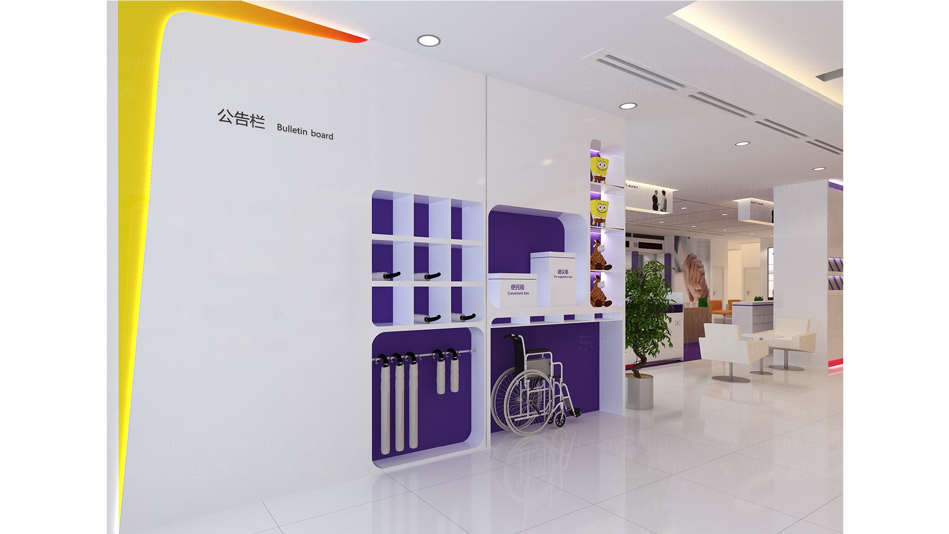 商业空间&导示案例唐山银行SI设计