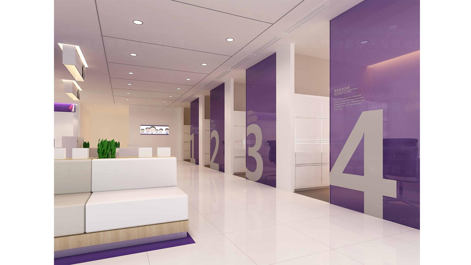 商业空间&导示唐山银行SI设计应用场景