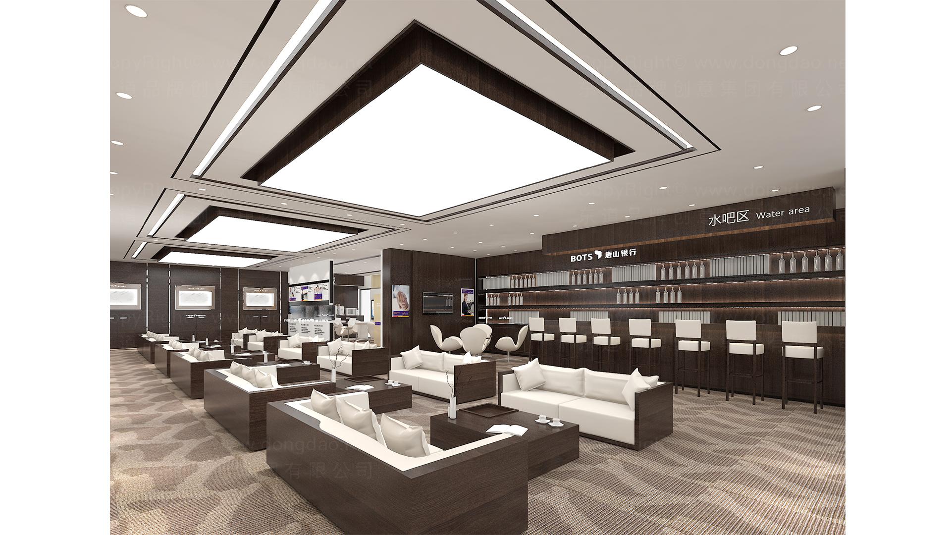 商业空间&导示唐山银行SI设计应用场景_4