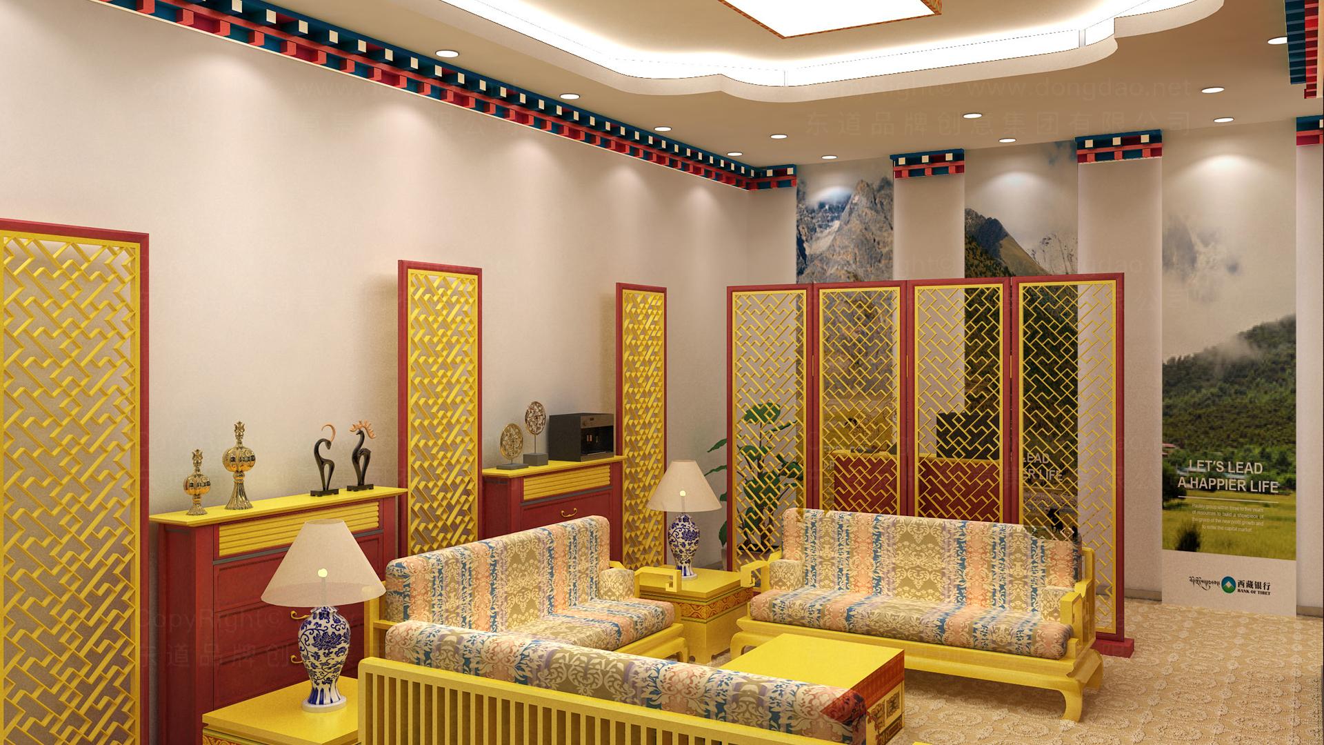 商业空间&导示西藏银行SI设计应用场景_5