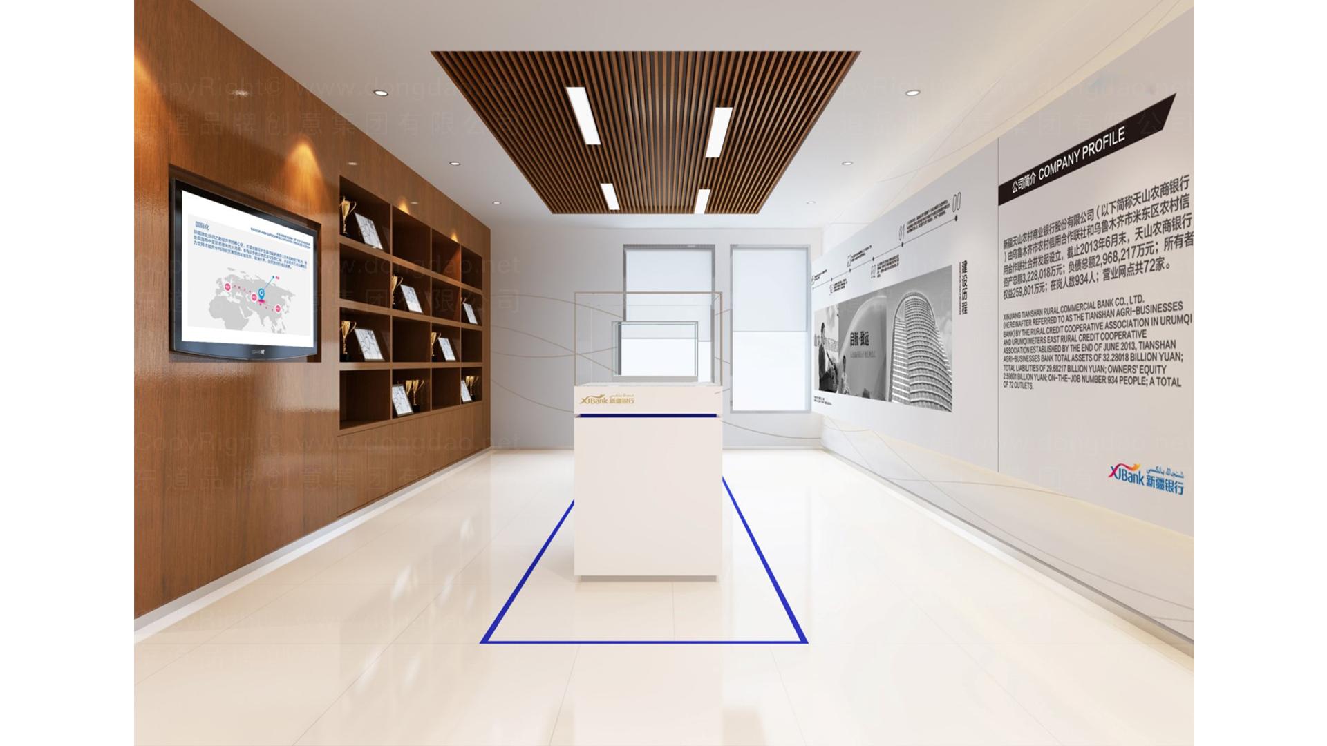 商业空间&导示新疆银行SI设计应用场景_2