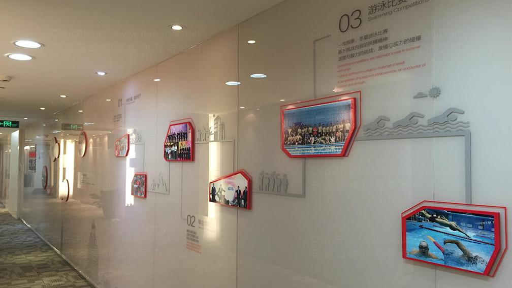 视觉传达方正证券企业文化墙设计应用场景_5