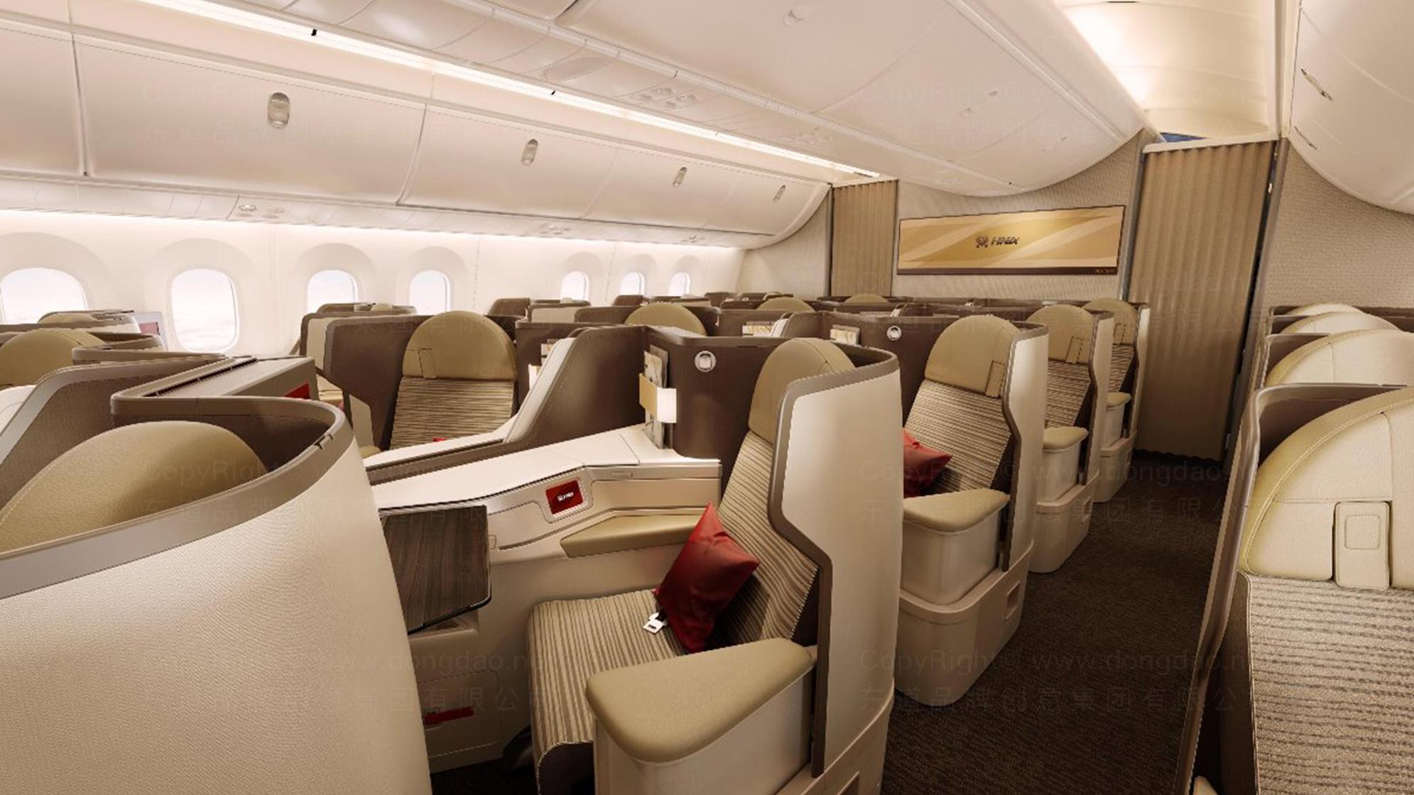 品牌设计海航航空VI设计应用场景