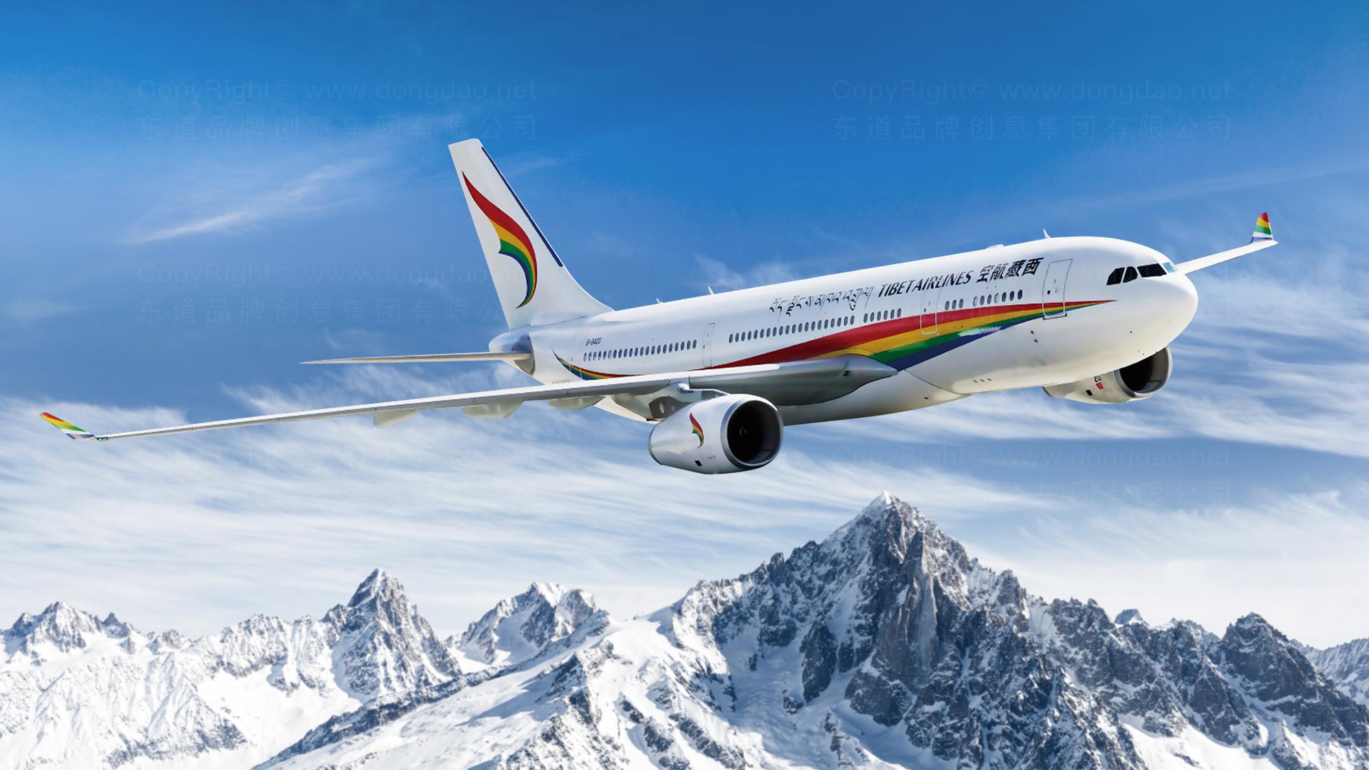 品牌设计西藏航空LOGO&VI设计应用场景_7