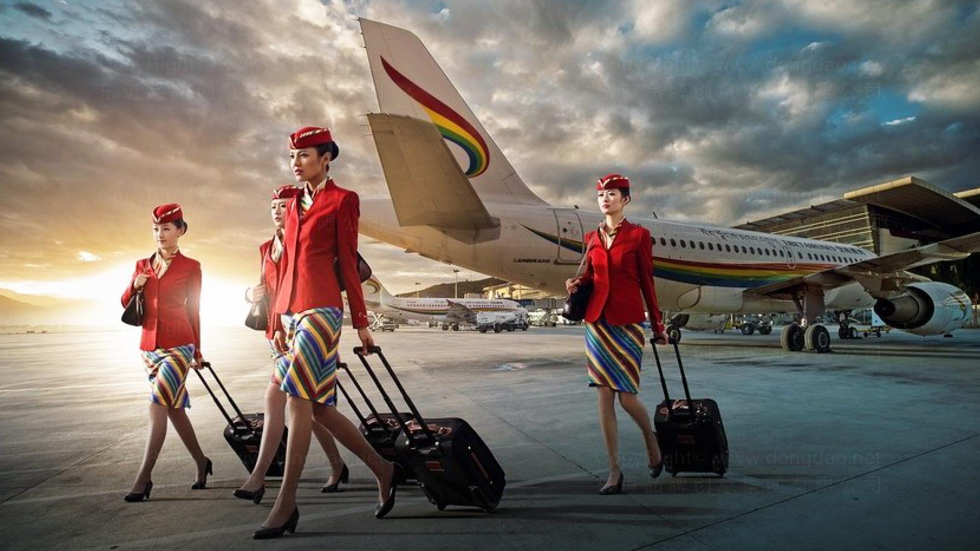 品牌设计西藏航空LOGO&VI设计应用场景_4