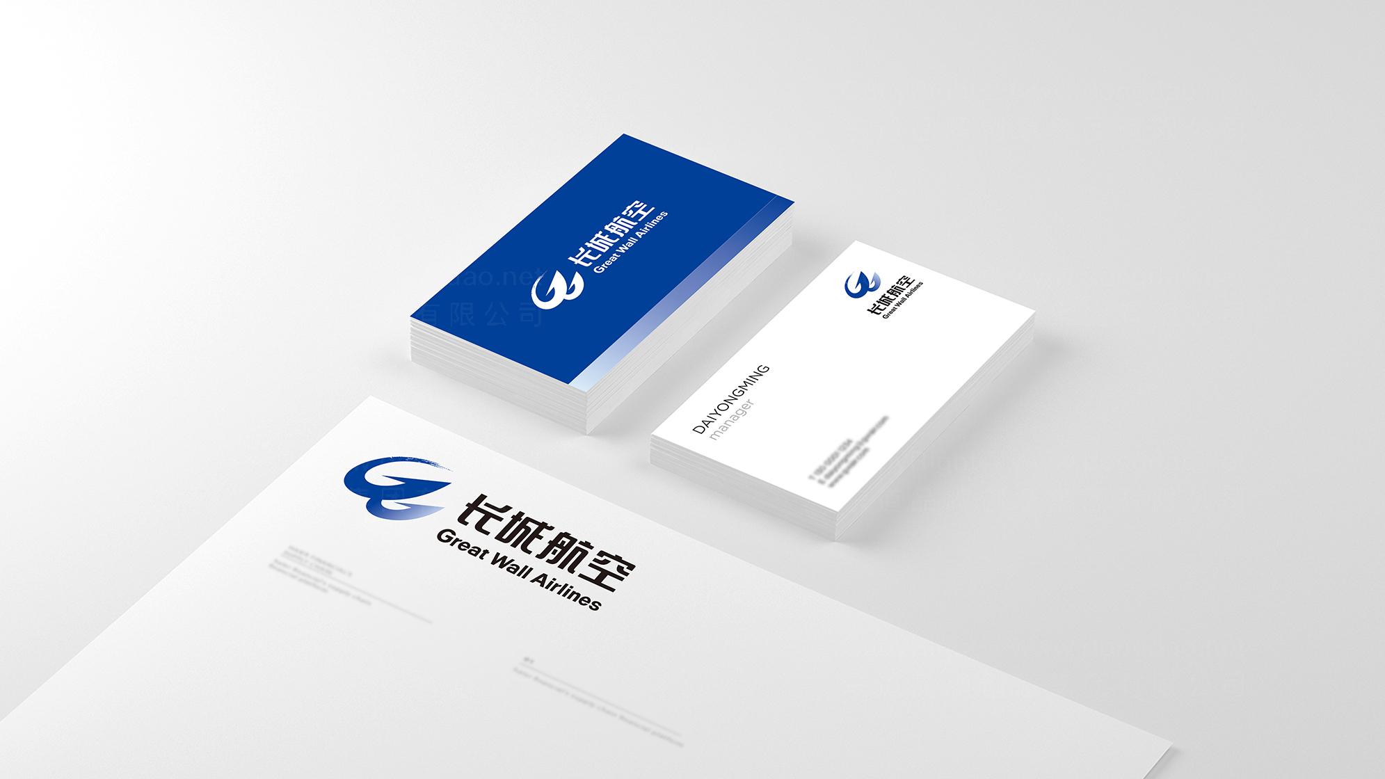 航空航天品牌设计长城航空LOGO&VI设计