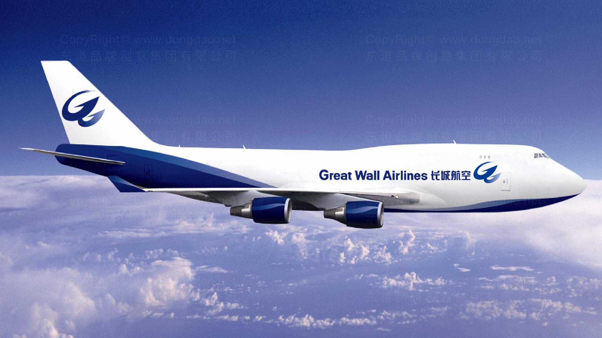 品牌设计长城航空LOGO&VI设计应用场景_2