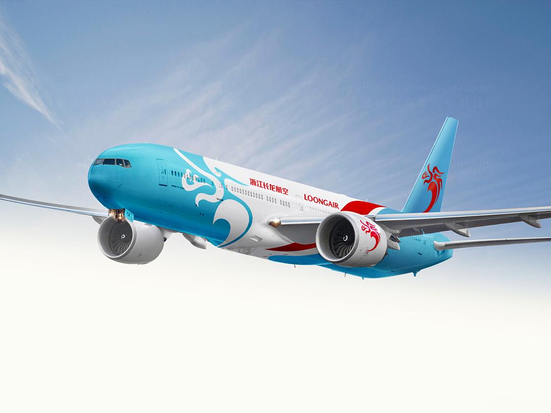 品牌设计长龙航空logo设计、vi设计应用场景_16