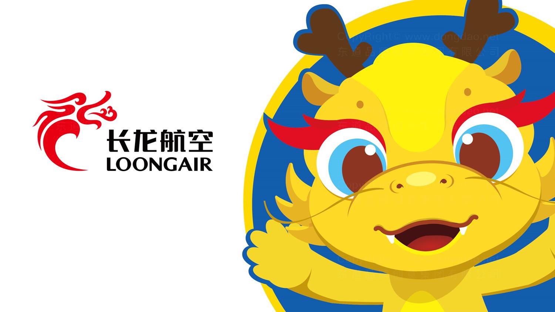 视觉传达案例长龙航空吉祥物设计