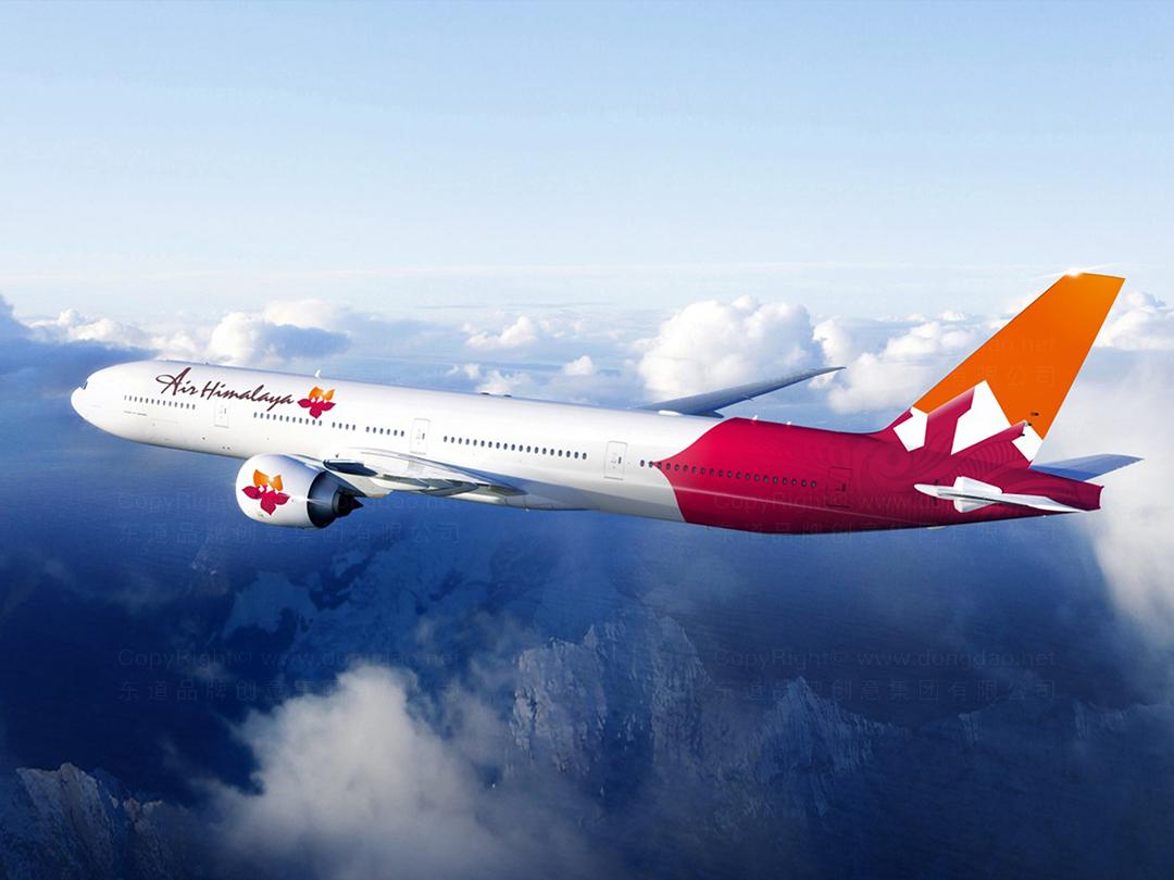 品牌设计喜马拉雅航空设计方案应用场景_6