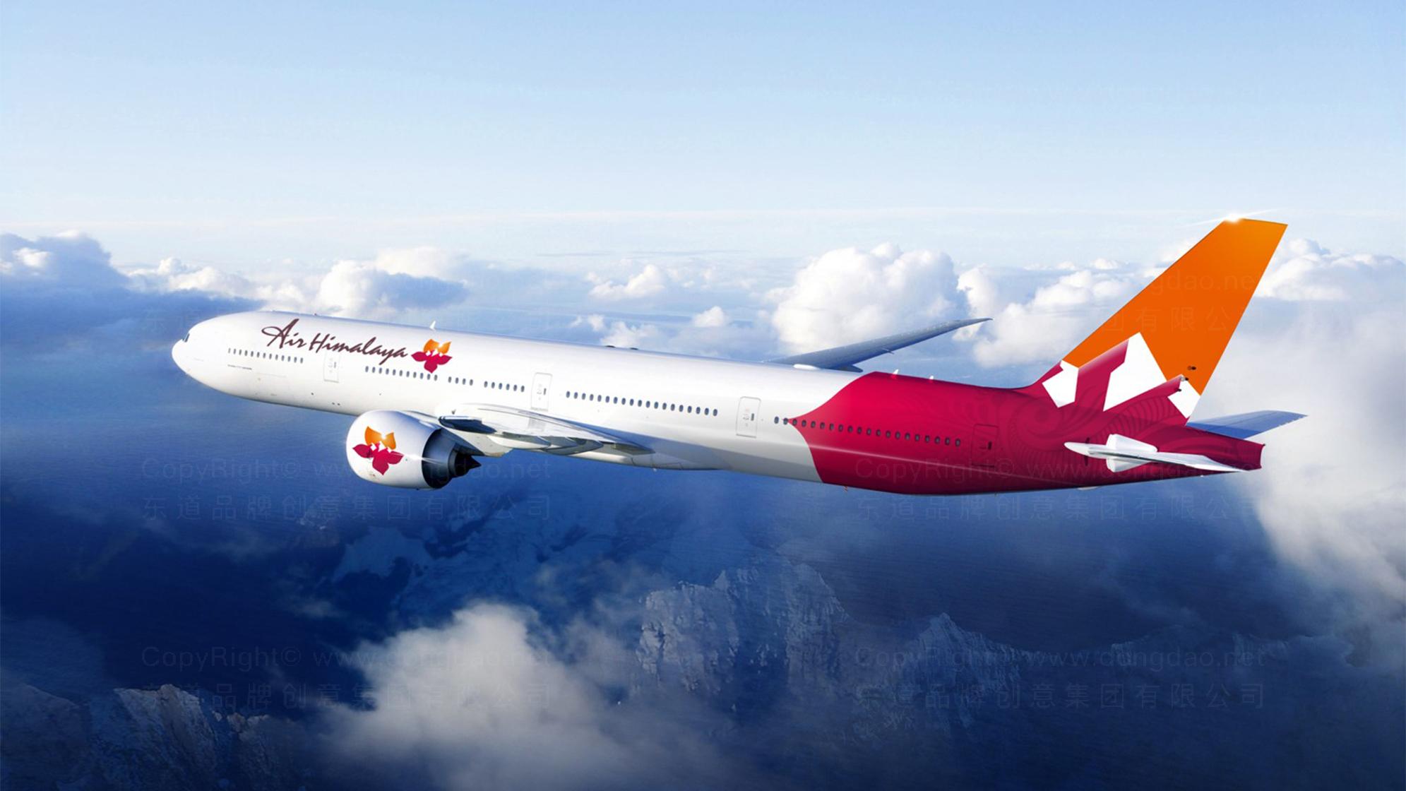 品牌设计案例喜马拉雅航空设计方案