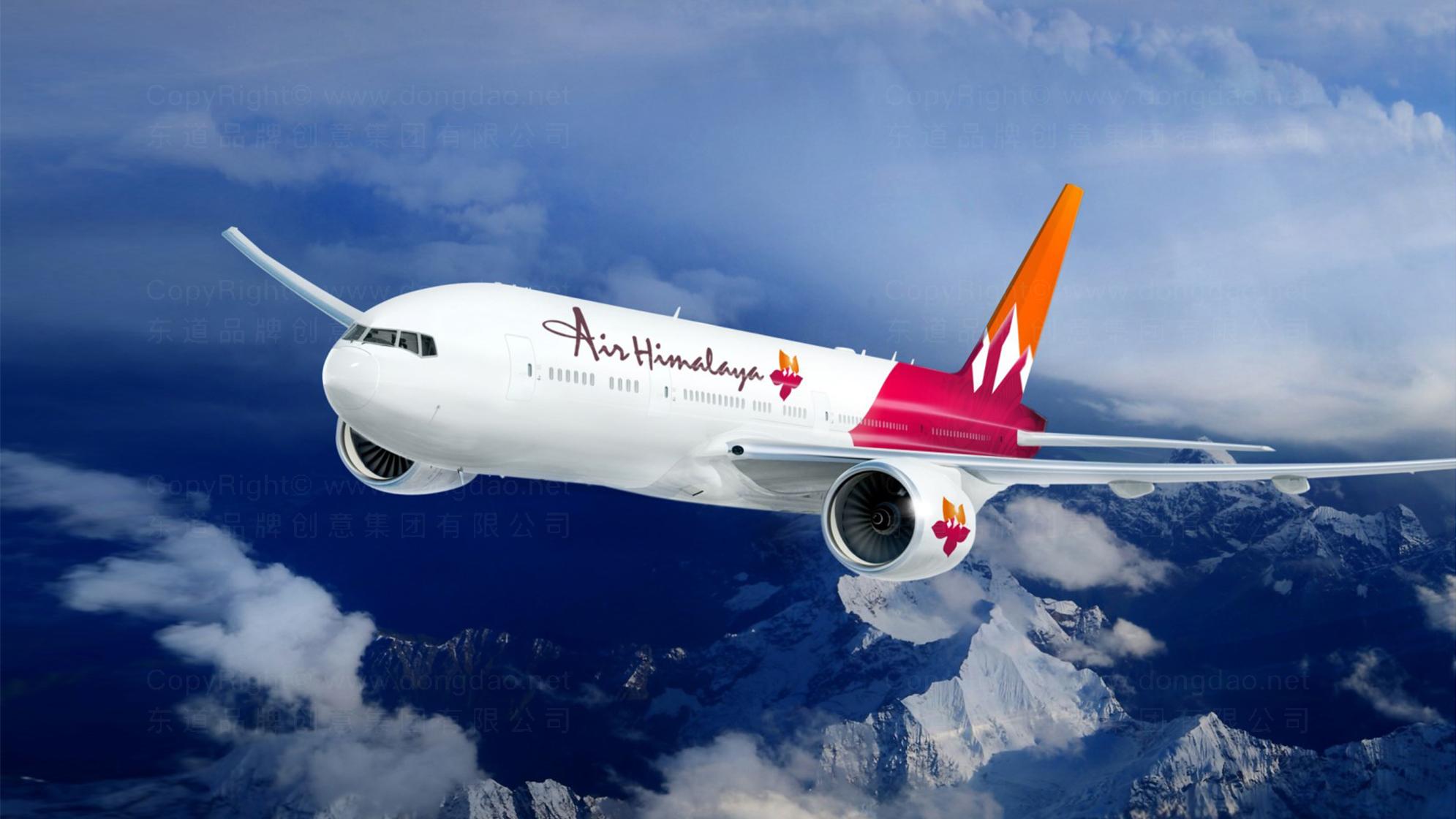 品牌设计喜马拉雅航空设计方案应用