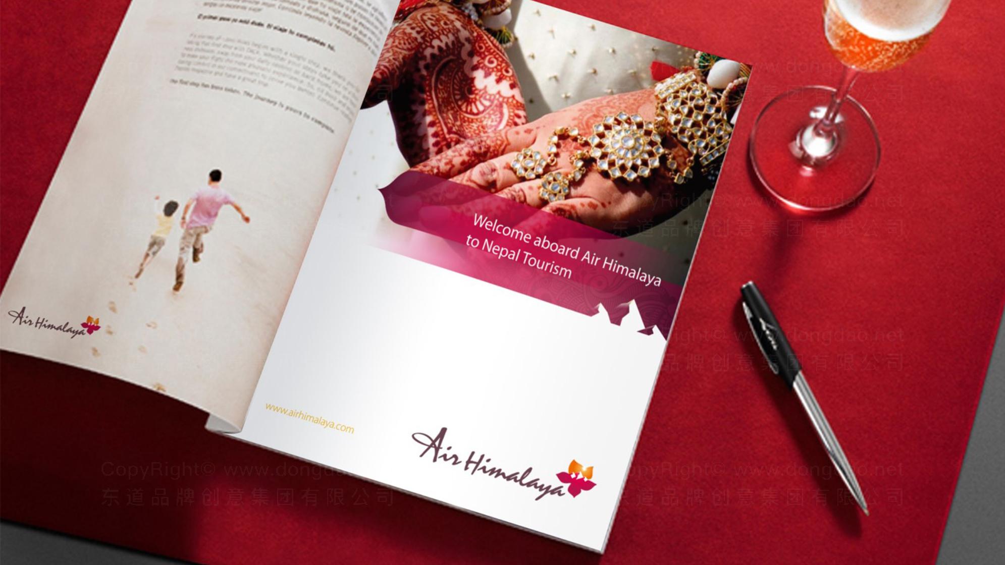 品牌设计喜马拉雅航空设计方案应用场景