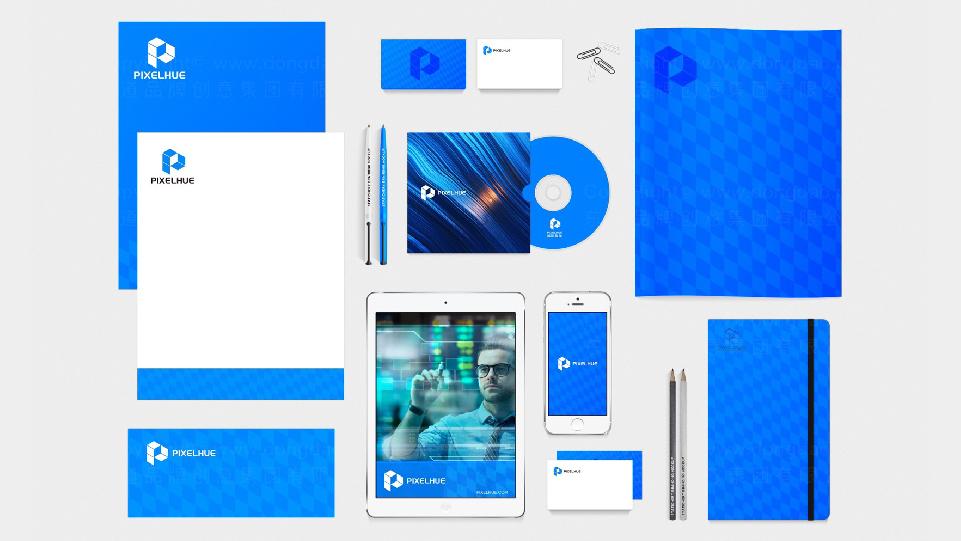 品牌设计嗨动视觉LOGO&VI设计应用场景_1