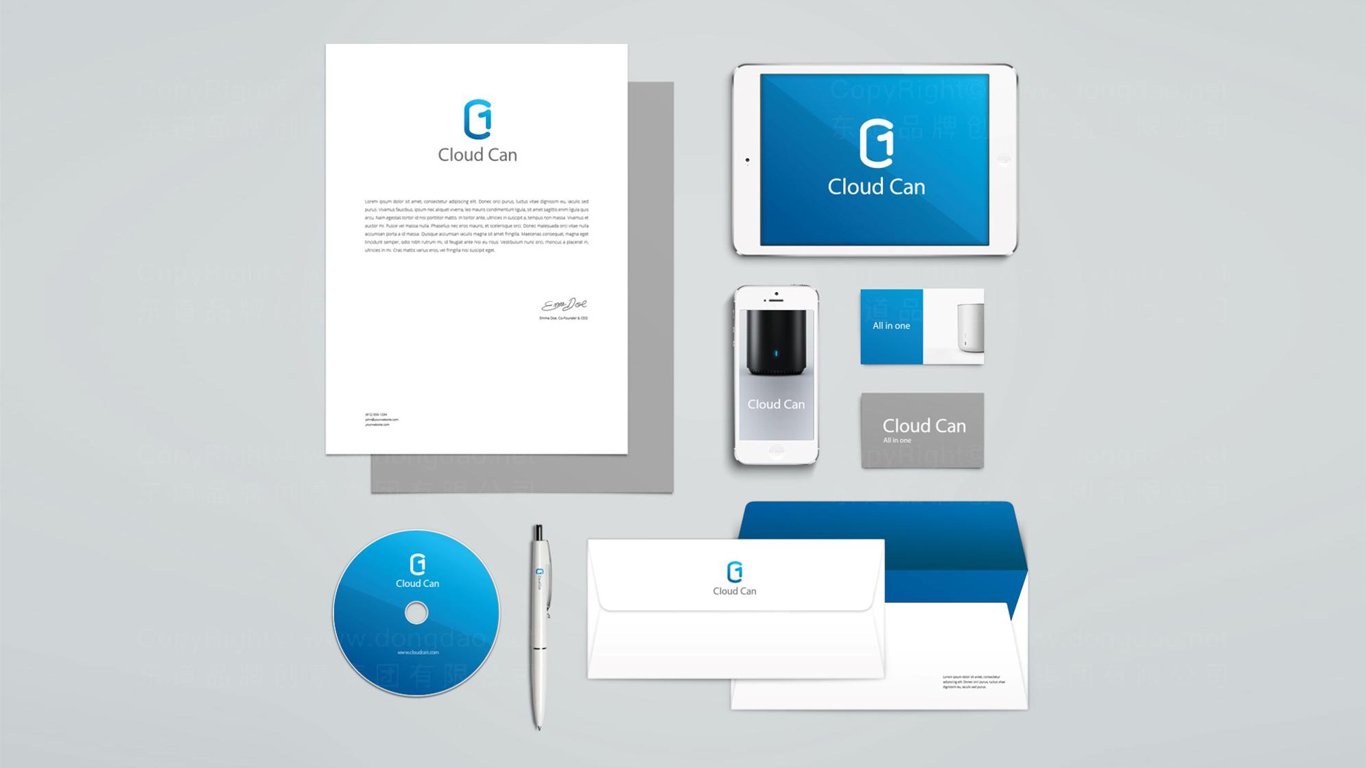品牌设计同方LOGO&VI设计应用