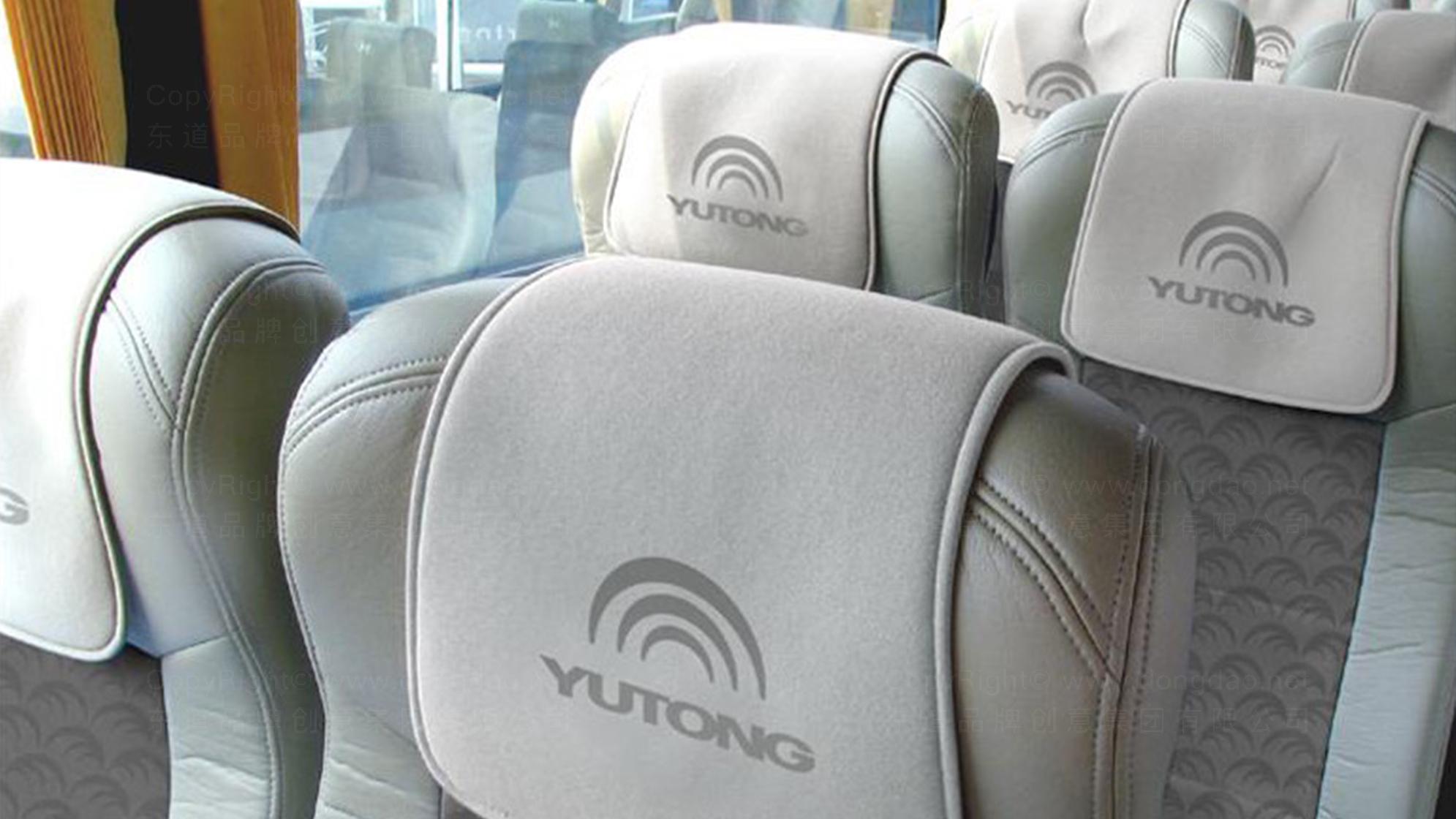 品牌设计宇通客车LOGO优化&VI设计应用场景