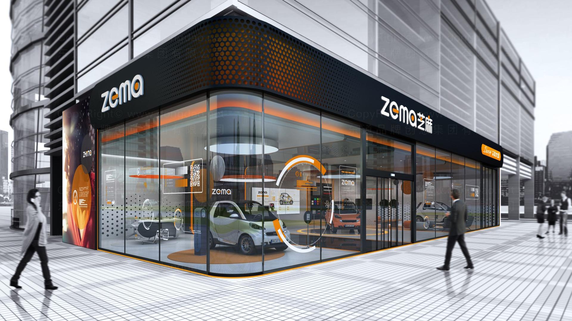 商业空间&导示案例众泰汽车4S店设计