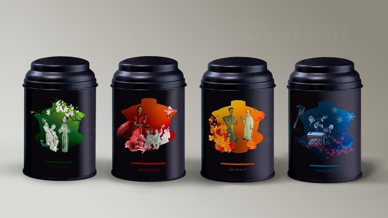 产品包装老舍茶馆系列包装应用