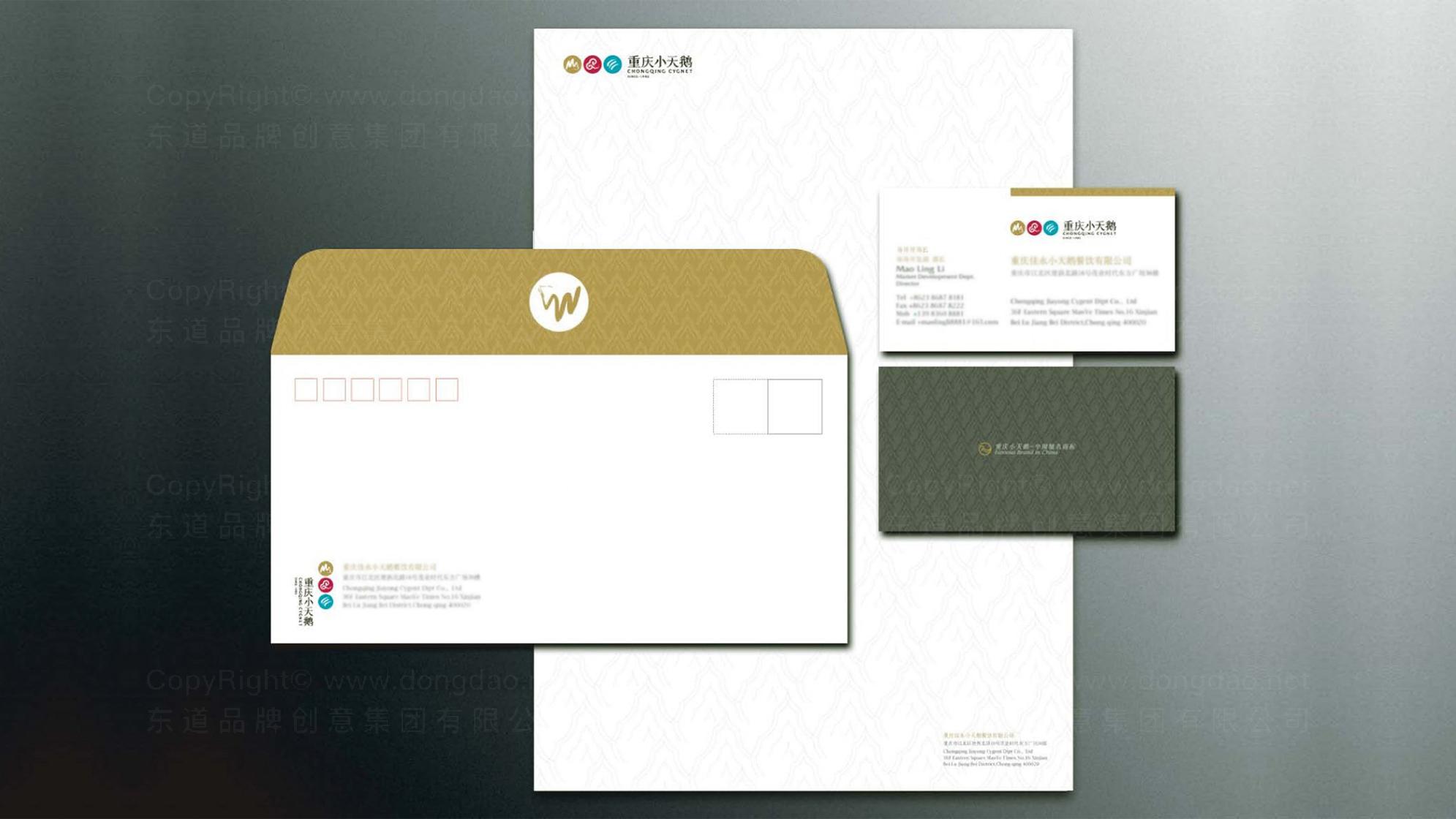 品牌设计重庆小天鹅LOGO&VI设计应用场景_1