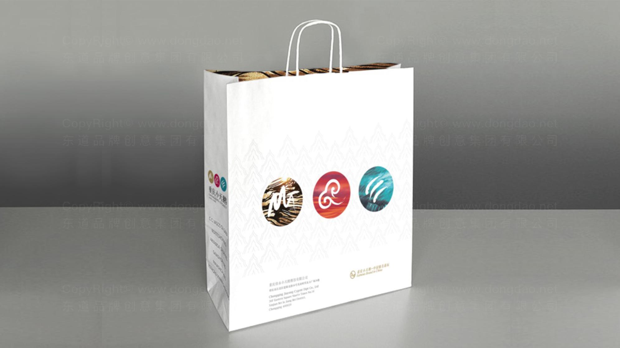 品牌设计重庆小天鹅LOGO&VI设计应用场景_5