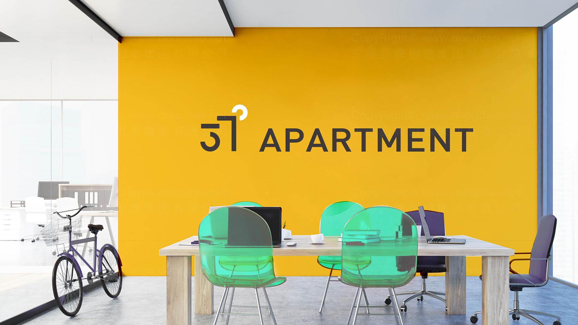 品牌设计37度公寓LOGO&VI设计应用场景_7