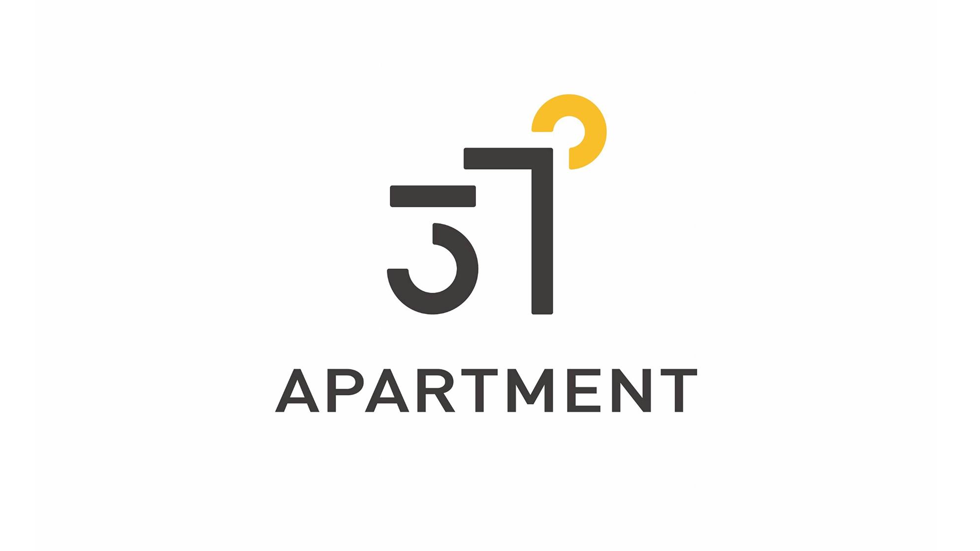 酒店餐饮品牌设计37度公寓LOGO&VI设计