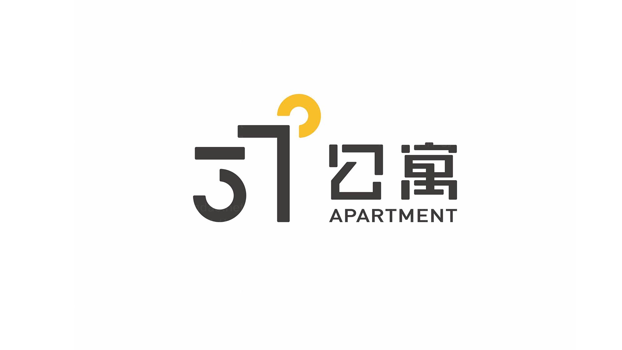 品牌设计37度公寓LOGO&VI设计应用场景_1