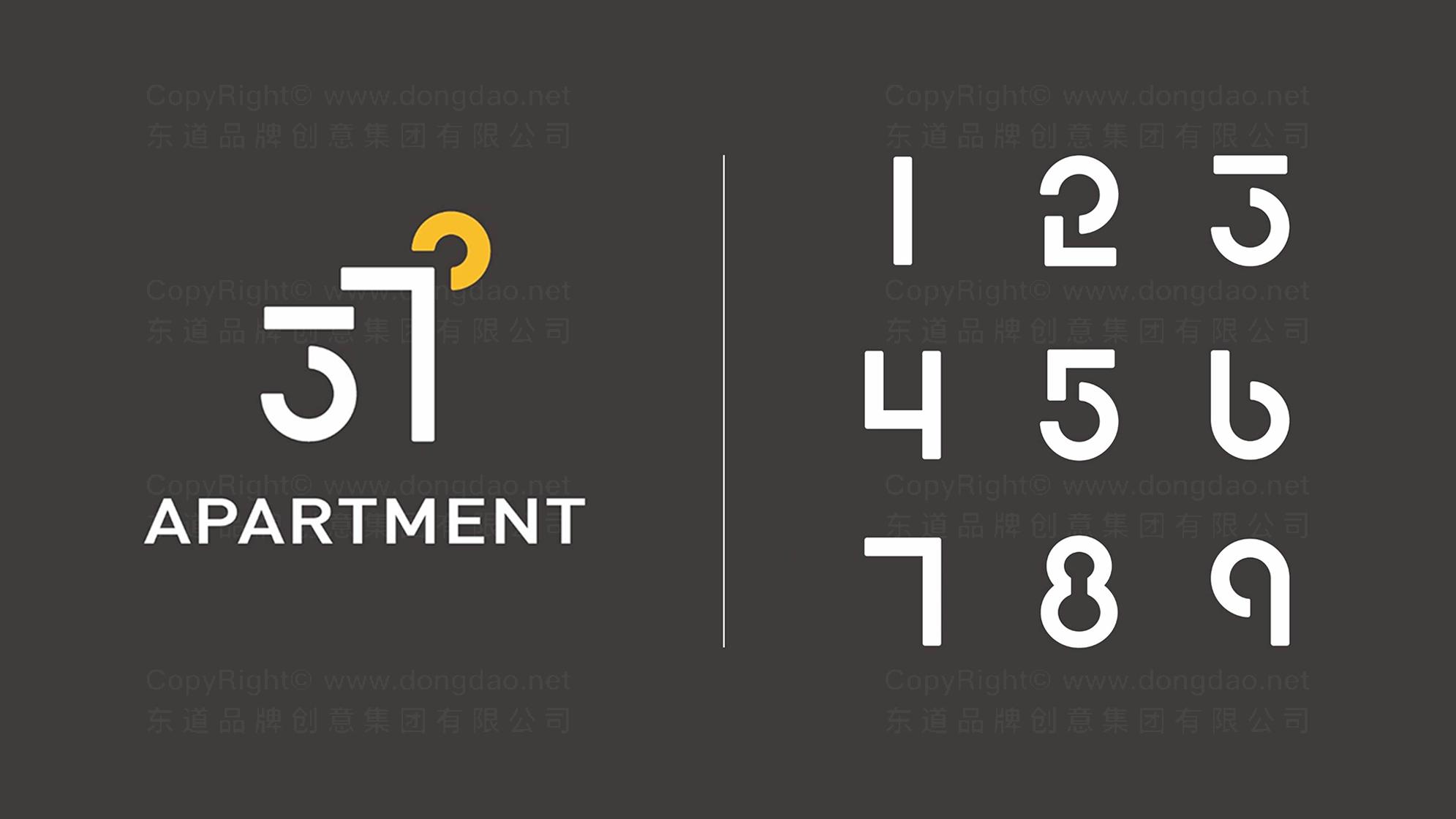 品牌设计37度公寓LOGO&VI设计应用场景_3