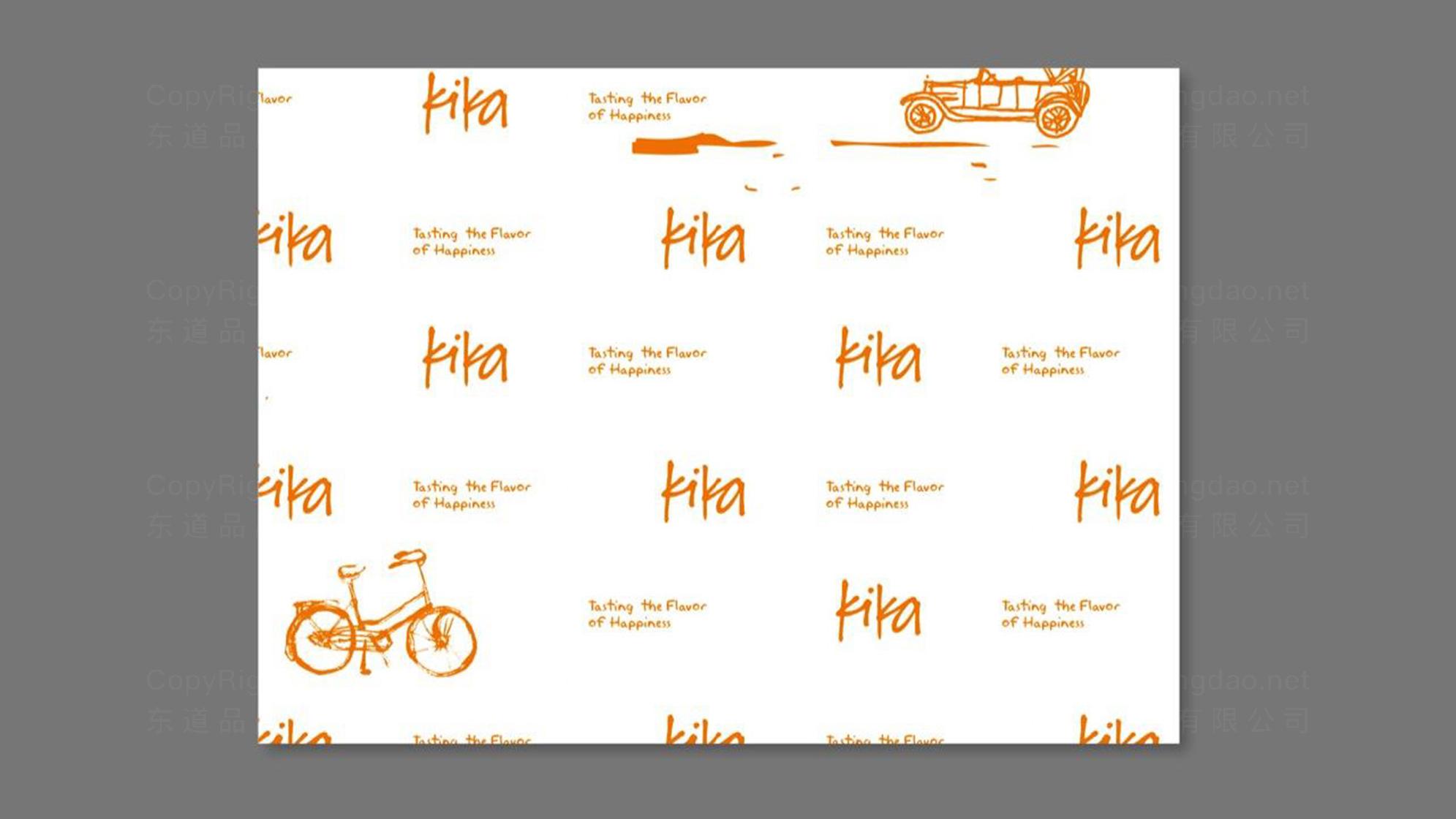 品牌设计kika冰淇淋LOGO&VI设计应用场景_3