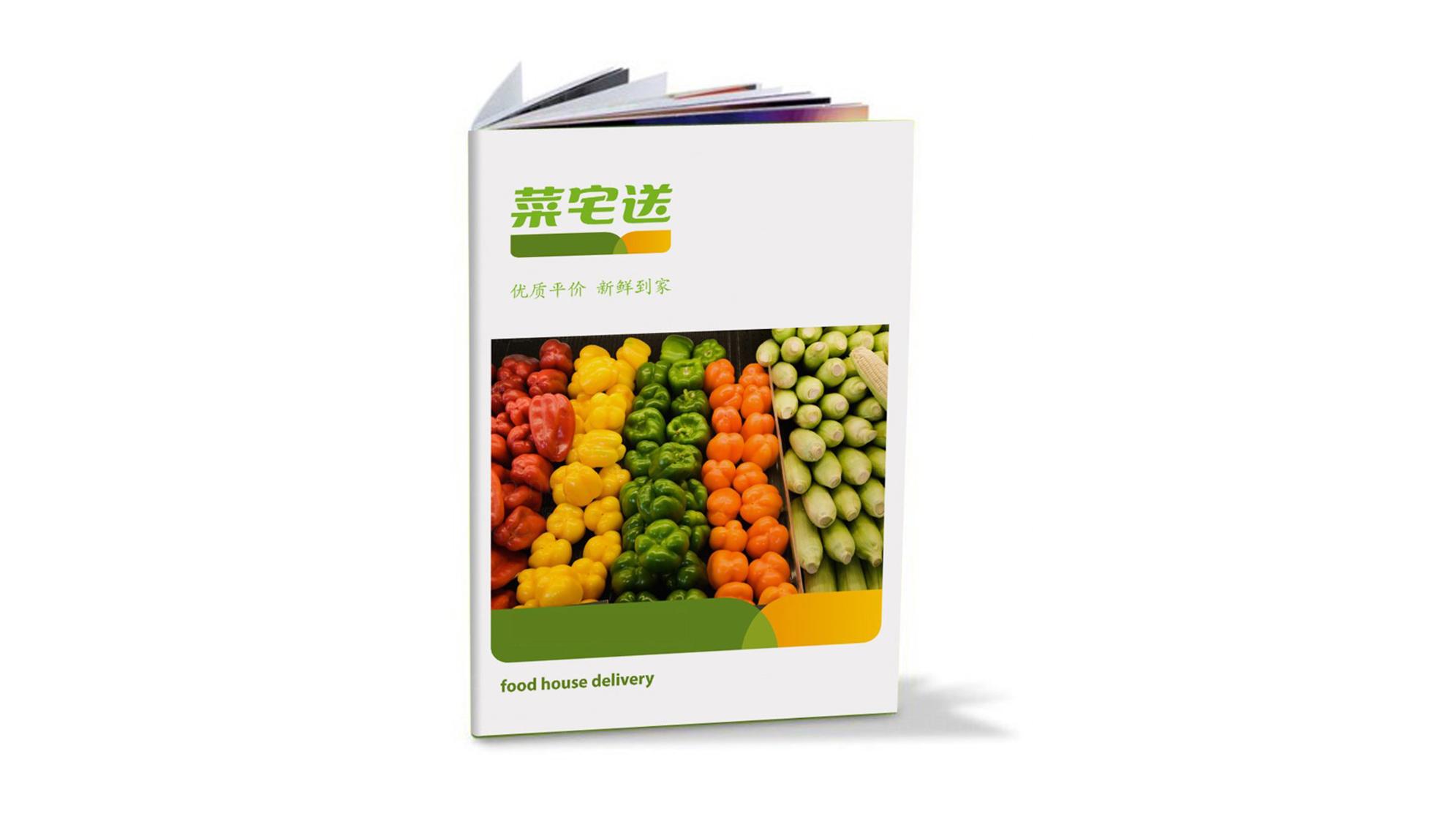 品牌设计菜宅送LOGO&VI设计应用场景_4