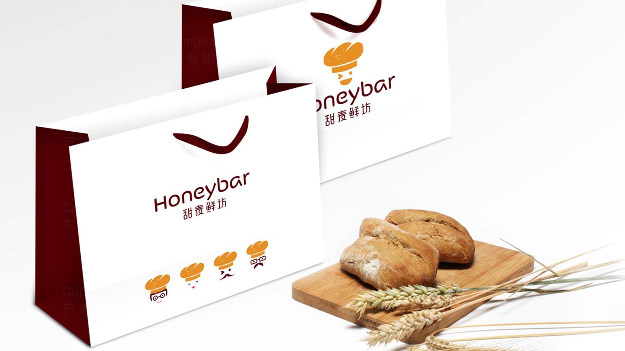 品牌设计甜麦鲜坊LOGO&VI设计应用场景_5