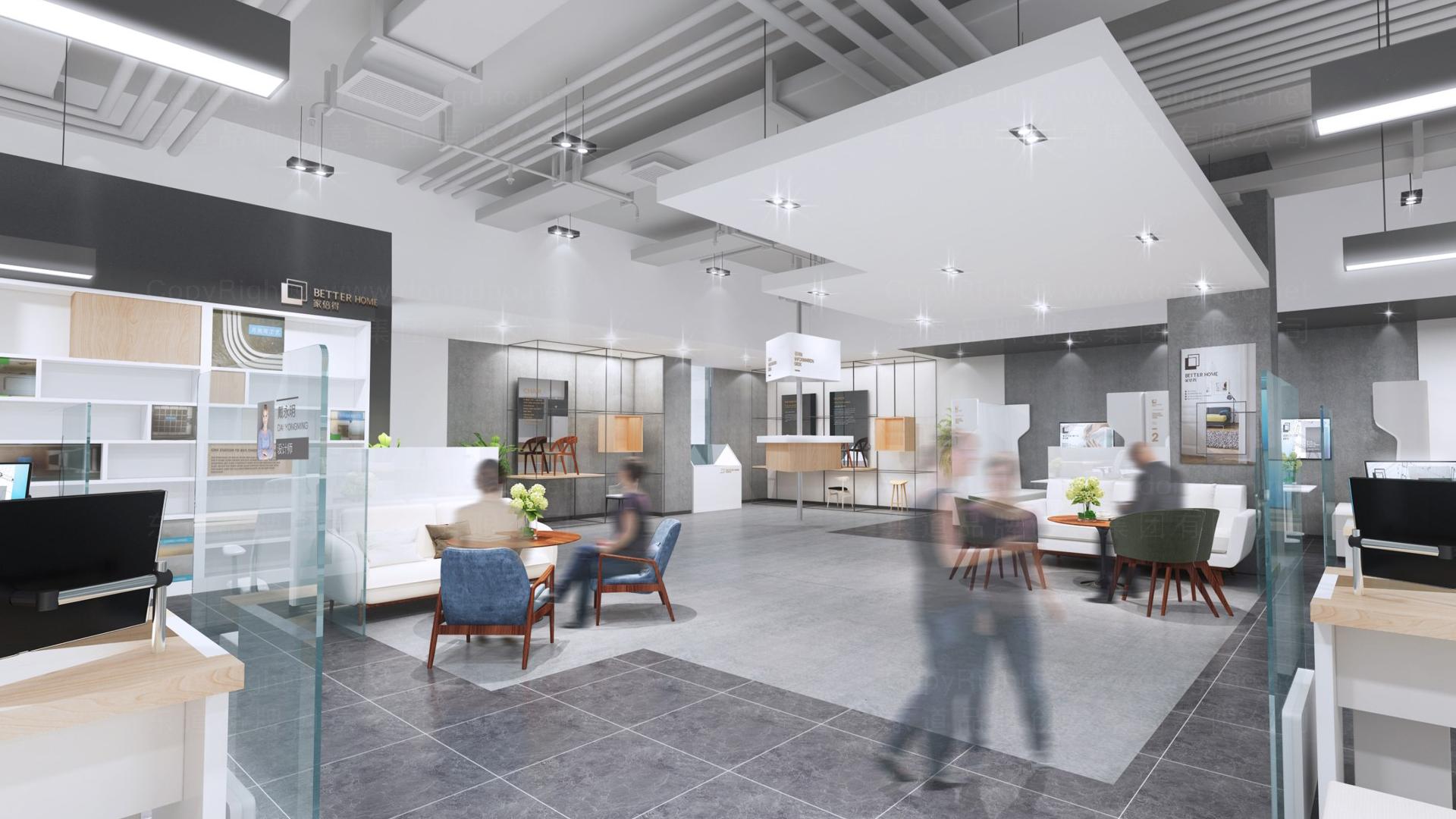 商业空间&导示家倍得SI设计应用