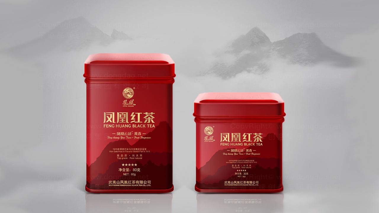 产品包装案例凤凰红茶系列包装