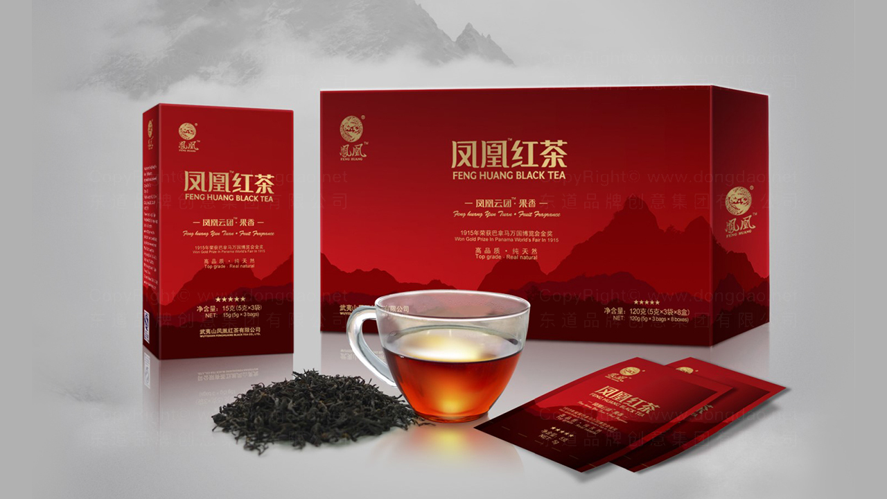产品包装凤凰红茶系列包装应用