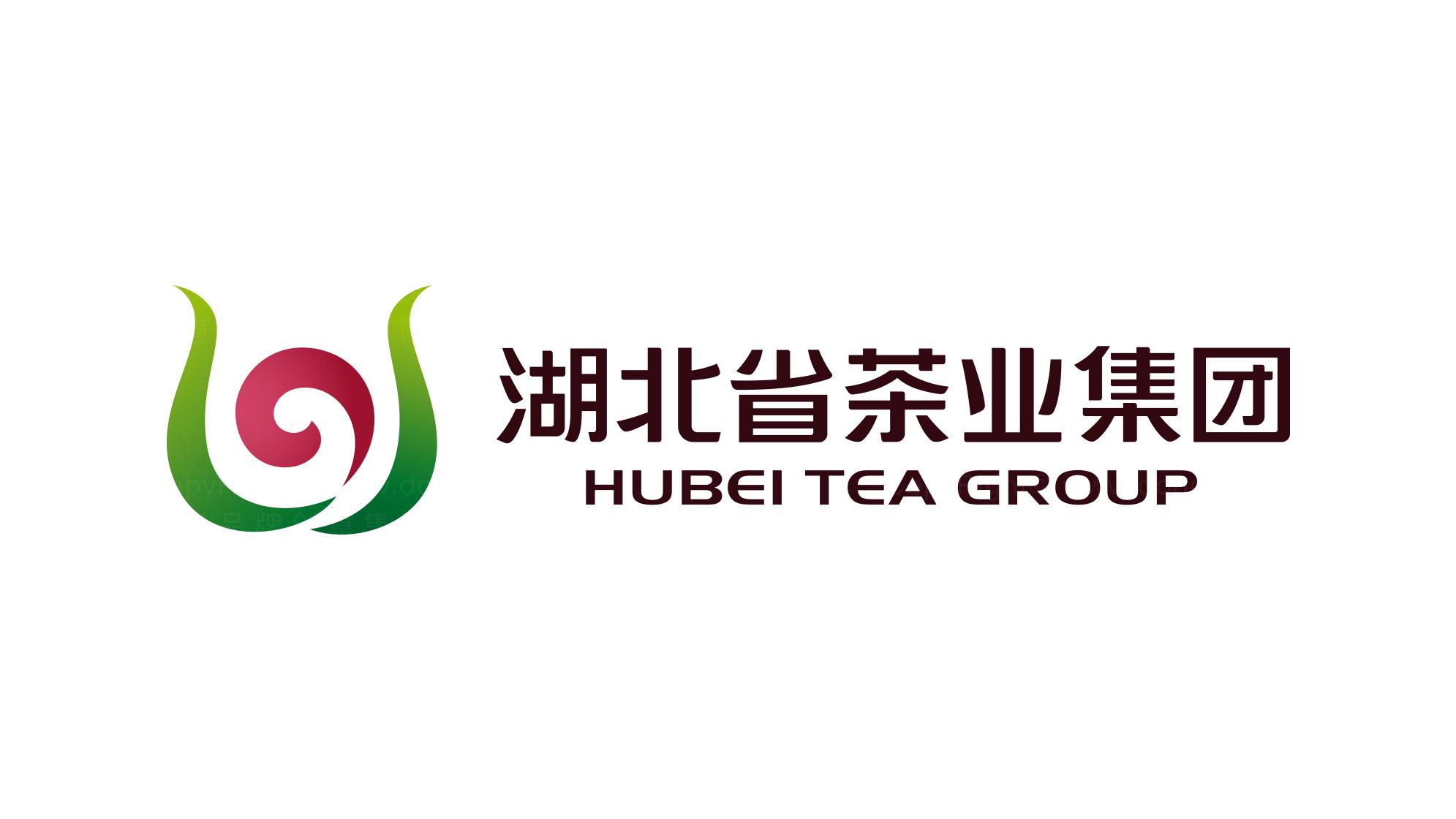 快速消费品牌设计湖北茶业LOGO&VI设计